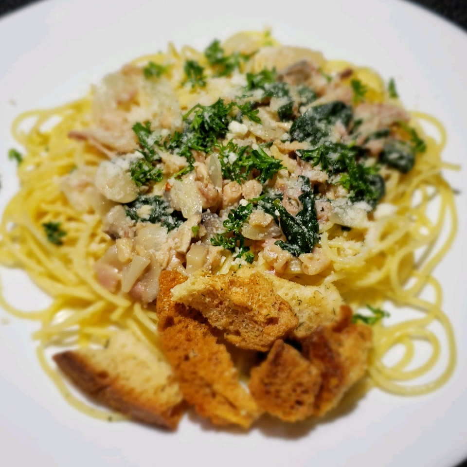 Clam Linguine Theresa Ferrer