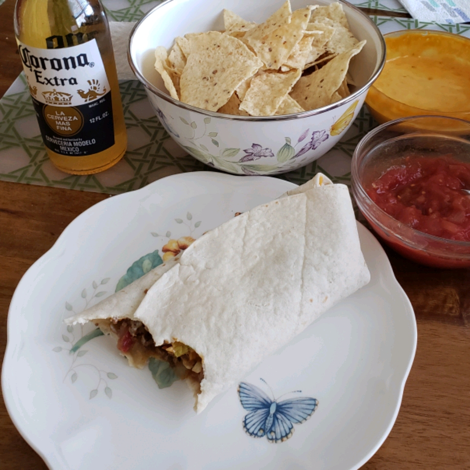 Spicy Beef Burritos Amanda Hicks Aldis