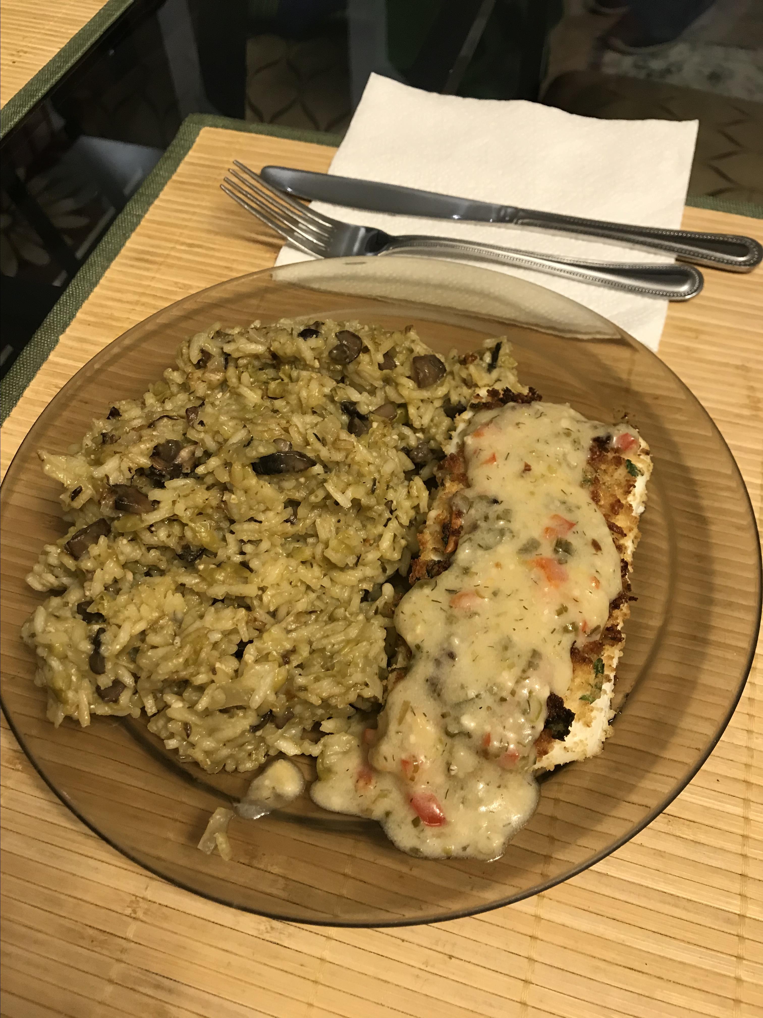 Vegan Mushroom Risotto Cdobosan