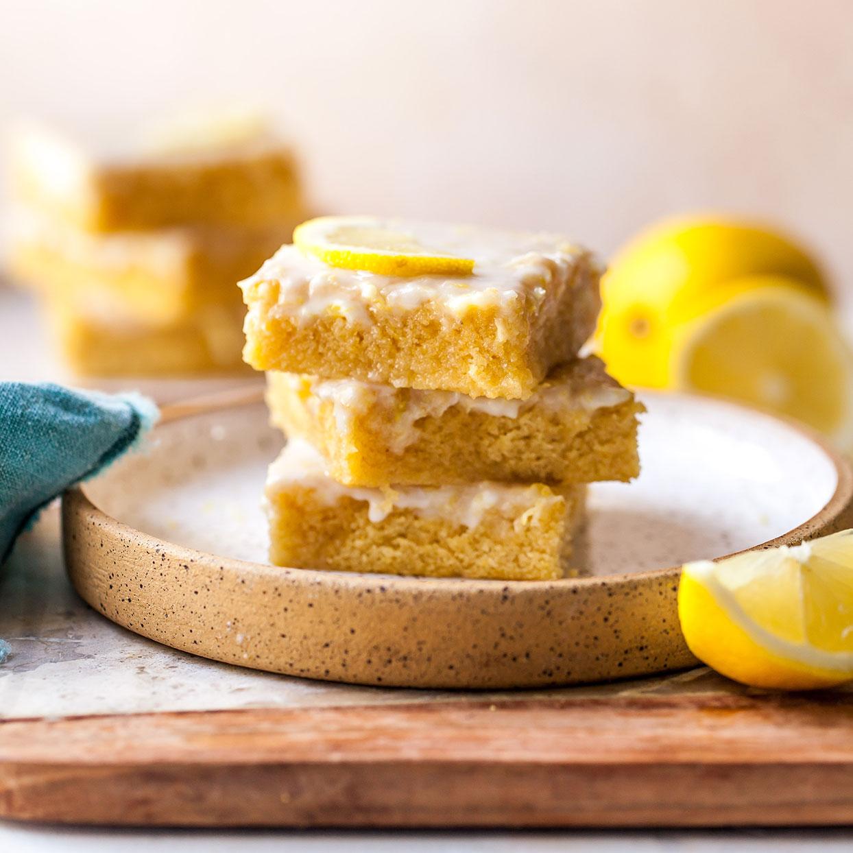 Lemon Brownies Carolyn Casner