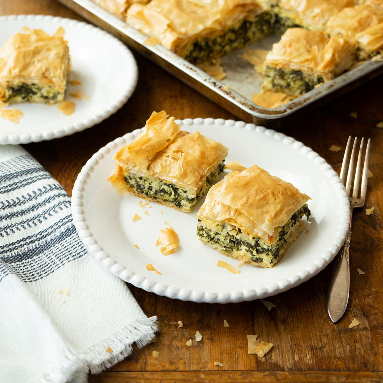 Classic Greek Spanakopita Lisa Cassell-Arms