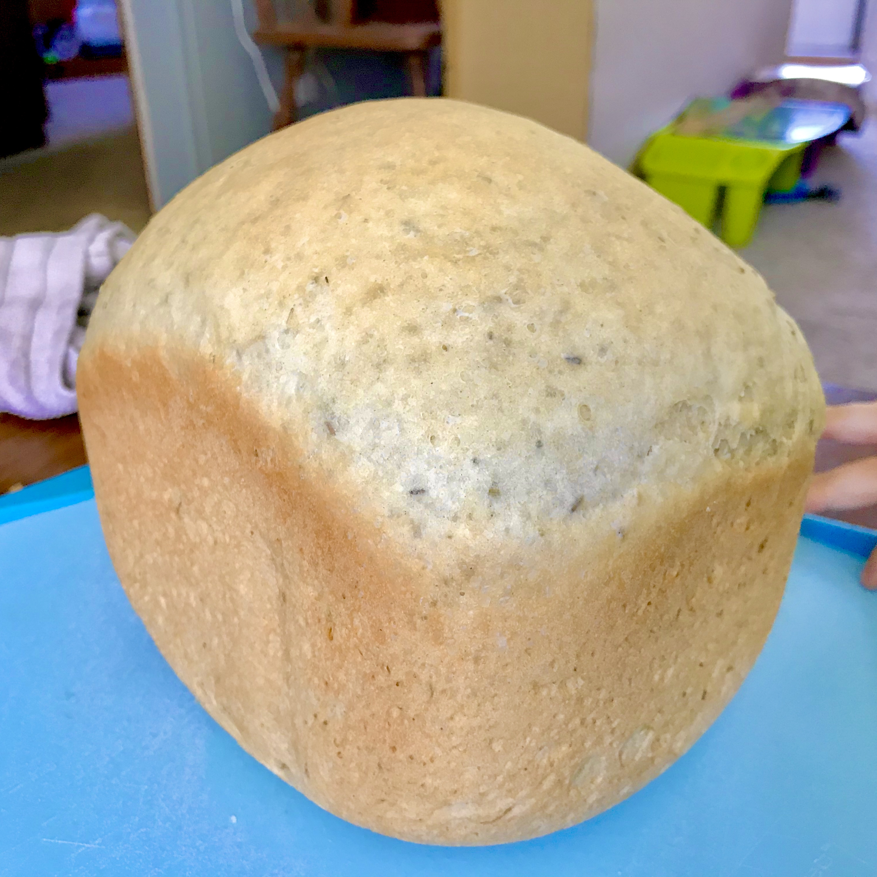 Super Easy Rosemary Bread Machine Bread Aron Daniels