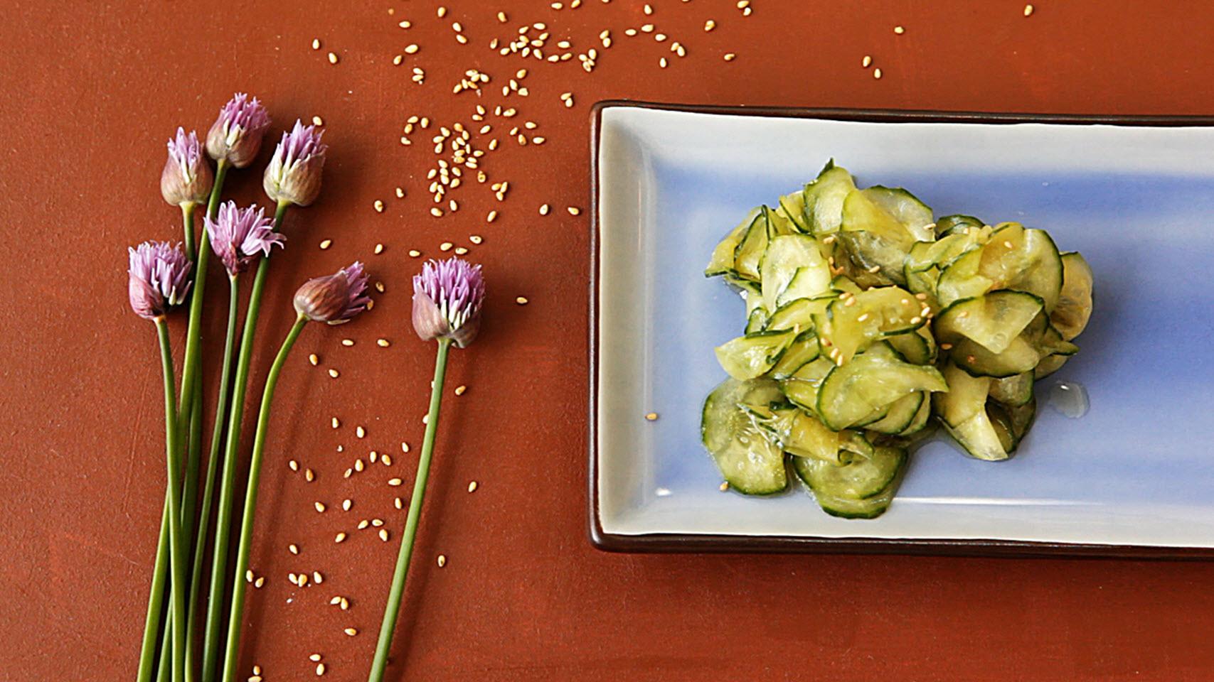 Japanese Cucumber Sunomono AllrecipesPhoto