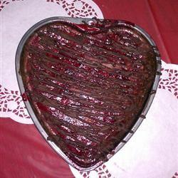 Ghirardelli Chocolate Raspberry Cheesecake Hearts Amanda VanBorkulo