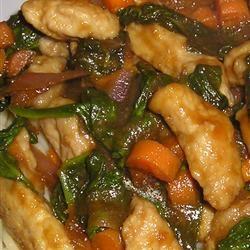 Pork, Apple, and Ginger Stir-Fry with Hoisin Sauce