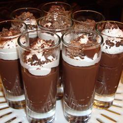 Chocolate Almond Pudding Paula