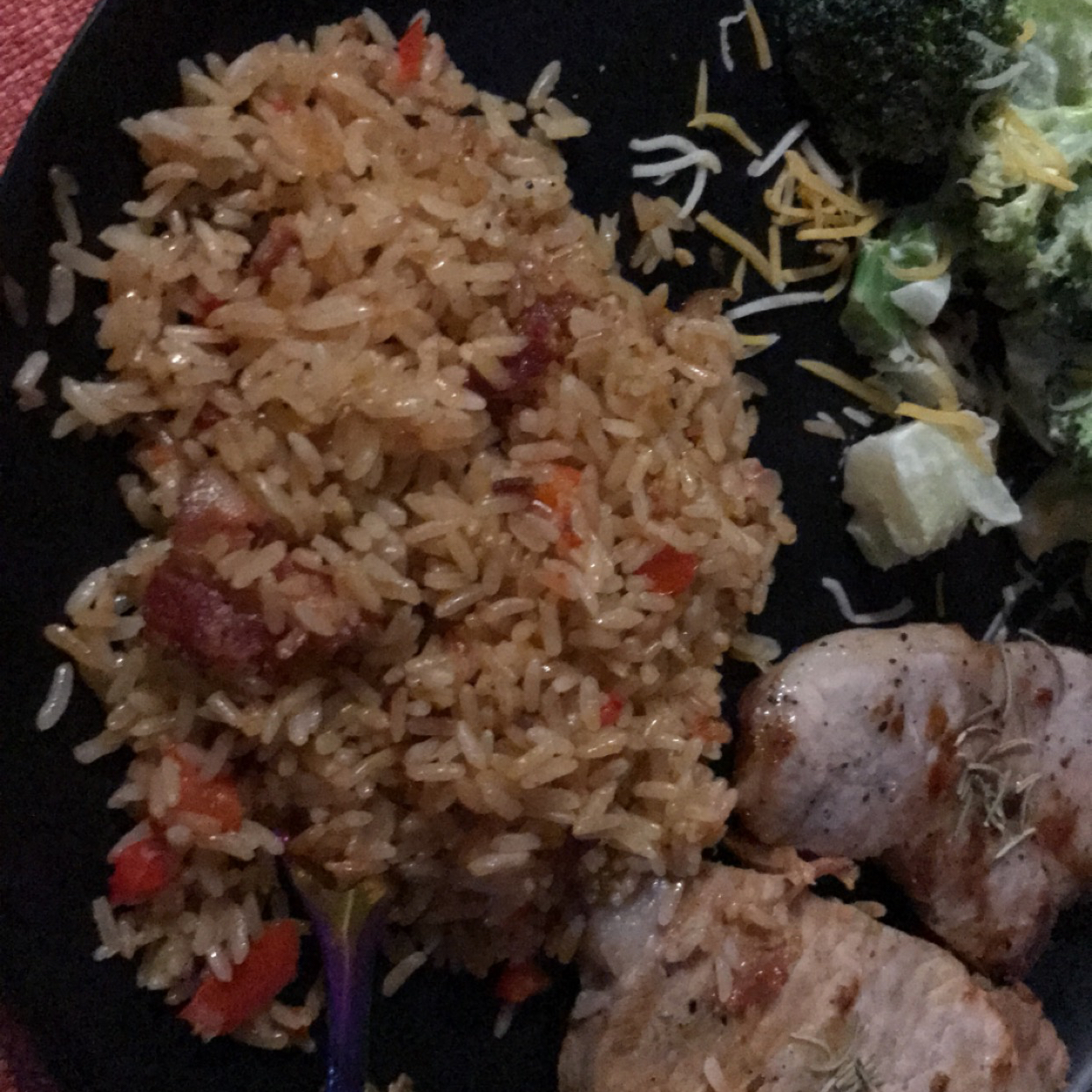 Pork Chops Over Rice Paula Badger
