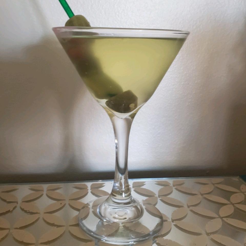 Dill Pickle Martini Michele Heiselmann