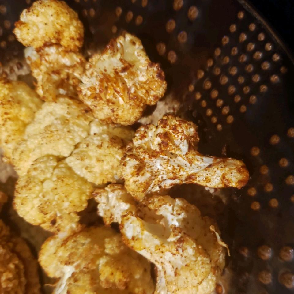 Air Fryer Roasted Cauliflower Dawn Williams Blunt