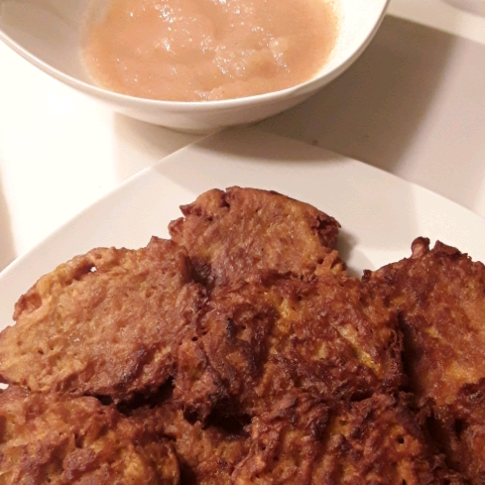 Curried Sweet Potato Latkes Suzie Jacuzzi