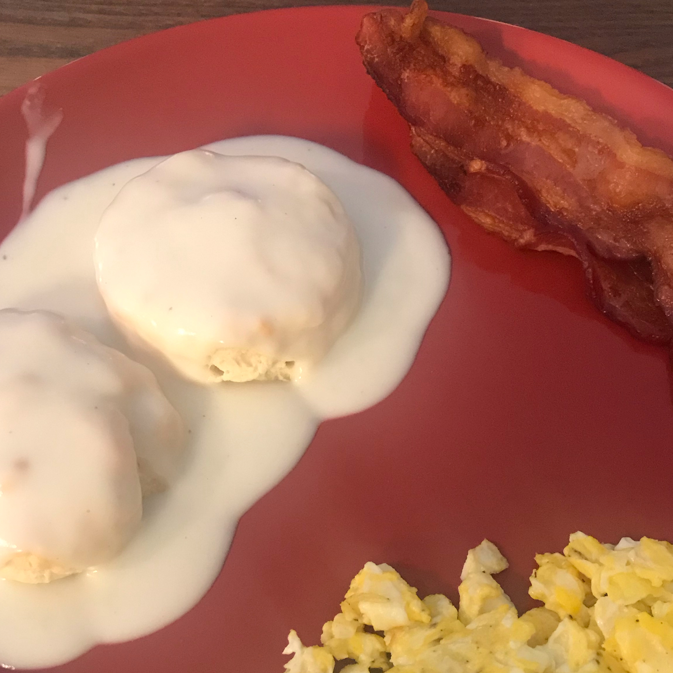 Bacon Gravy for Biscuits