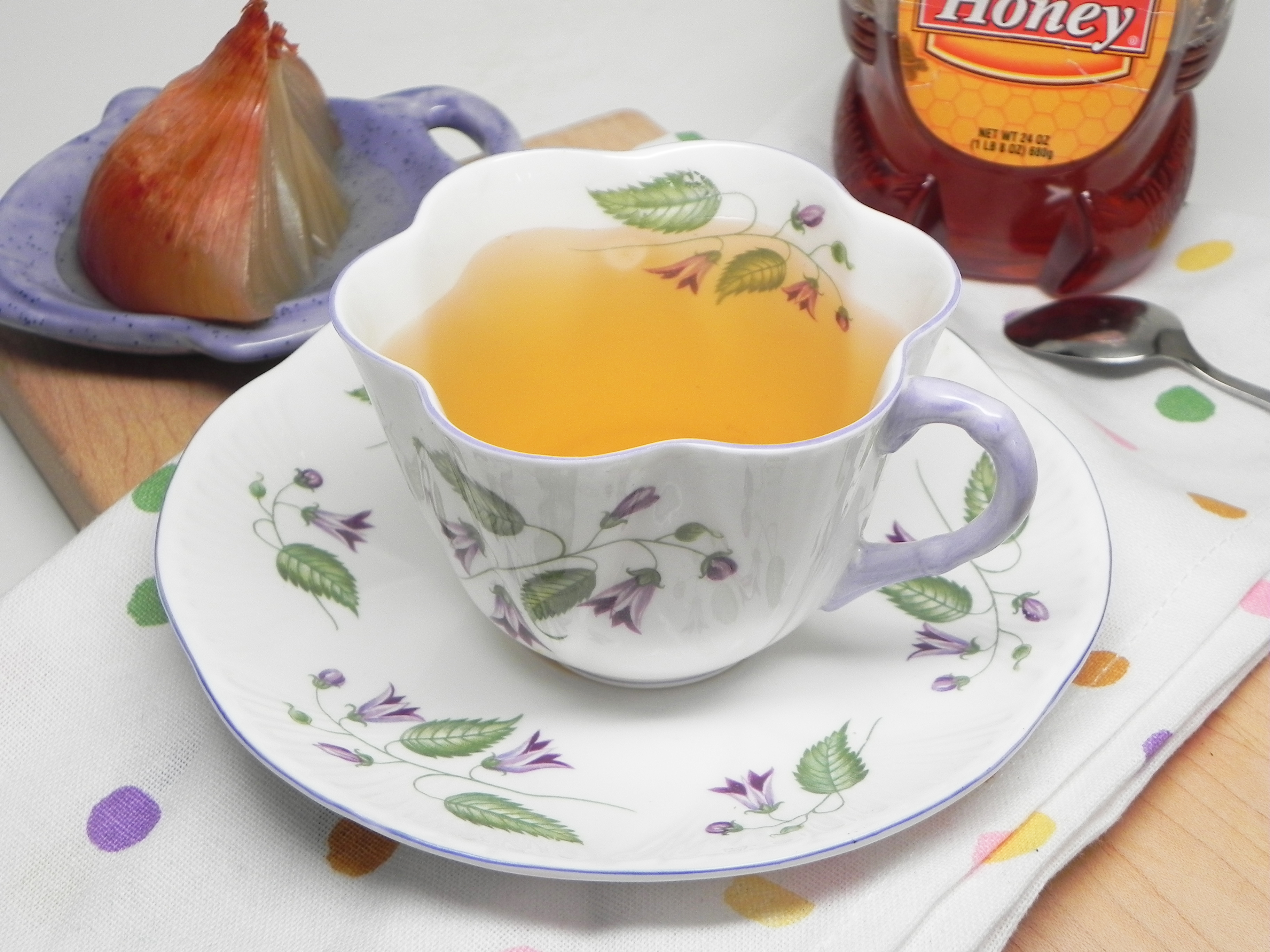Onion Tea (Home Remedy for Cough)
