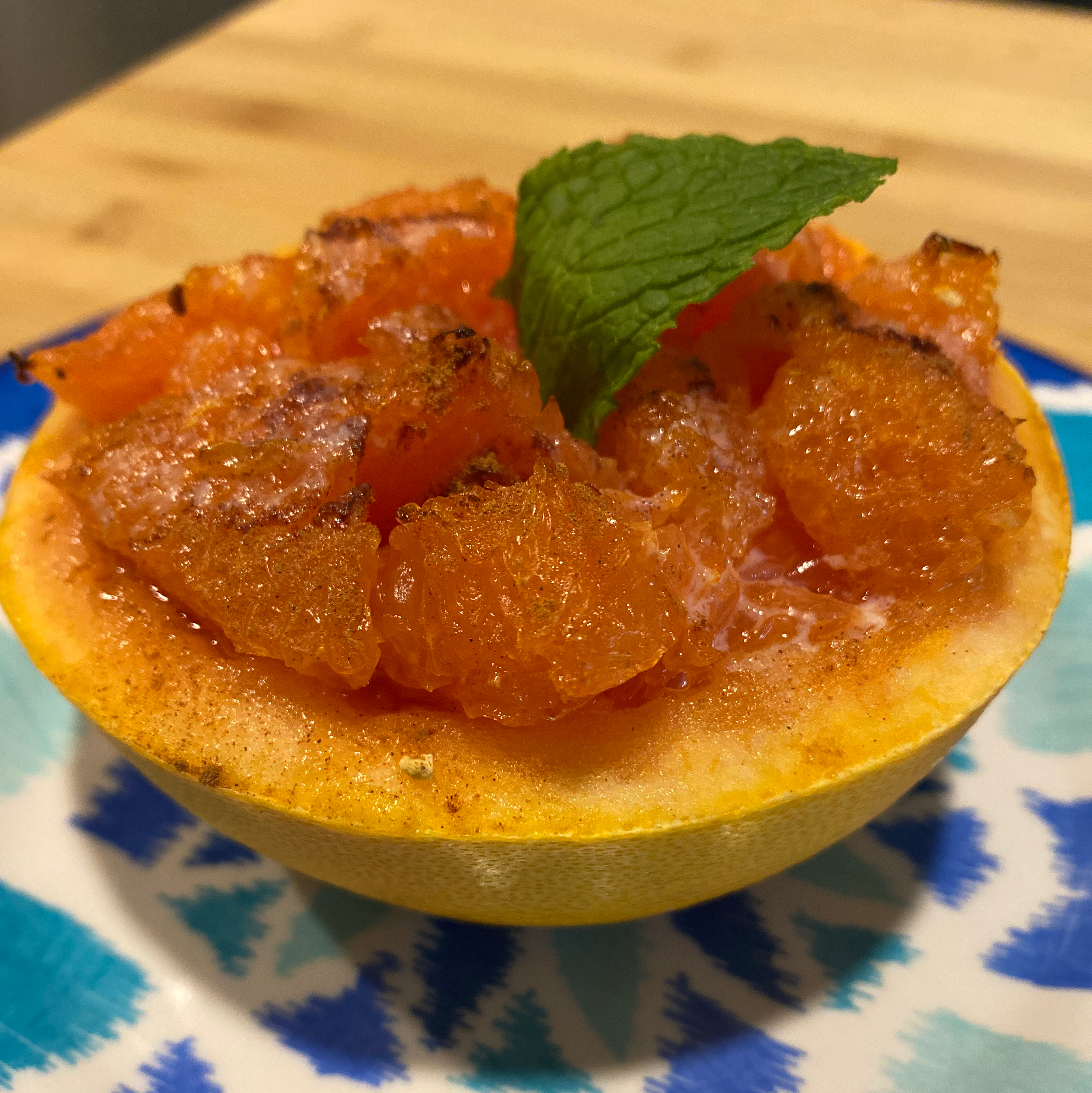 Broiled Grapefruit Tammy Wickizer