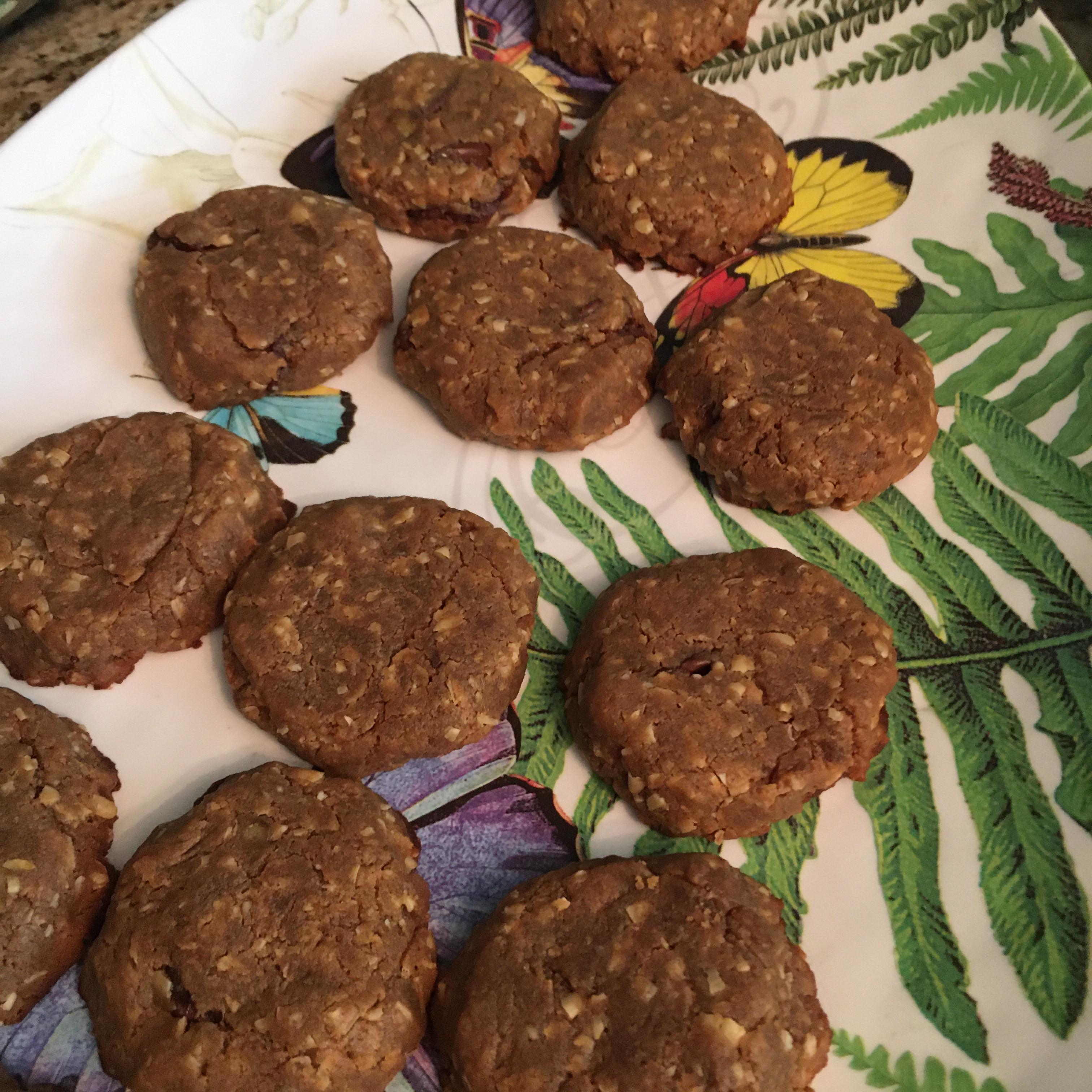 Peanut Butter-Banana Cookies Sheri