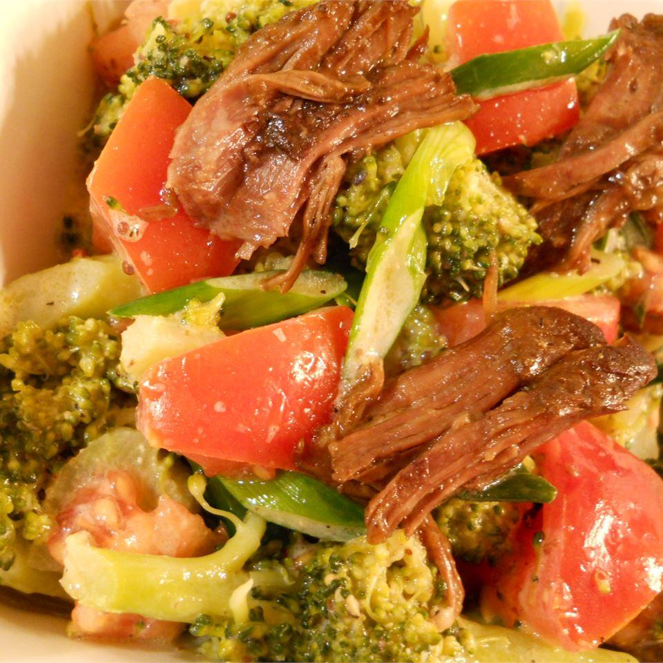 Beef and Broccoli Salad merryc