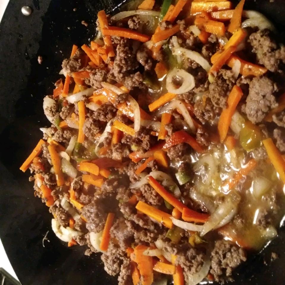 One-Pot Hamburger Adobo Dinner Jenelle Seachrist