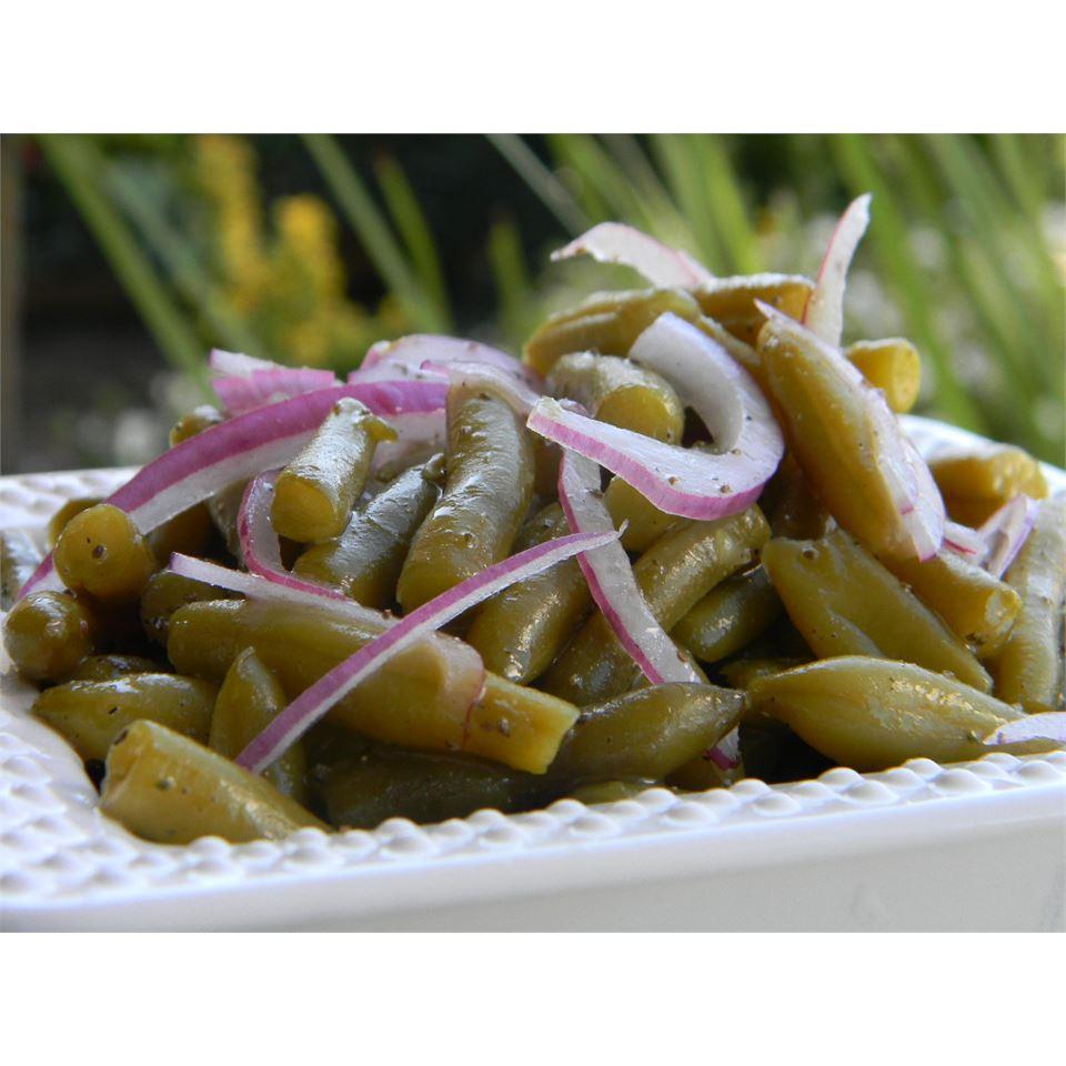 Cold Green Bean Salad Baking Nana