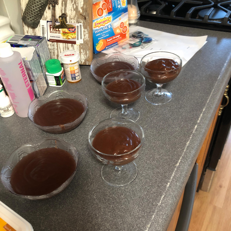 Almond Milk Chocolate Pudding Barbara Brown Engler
