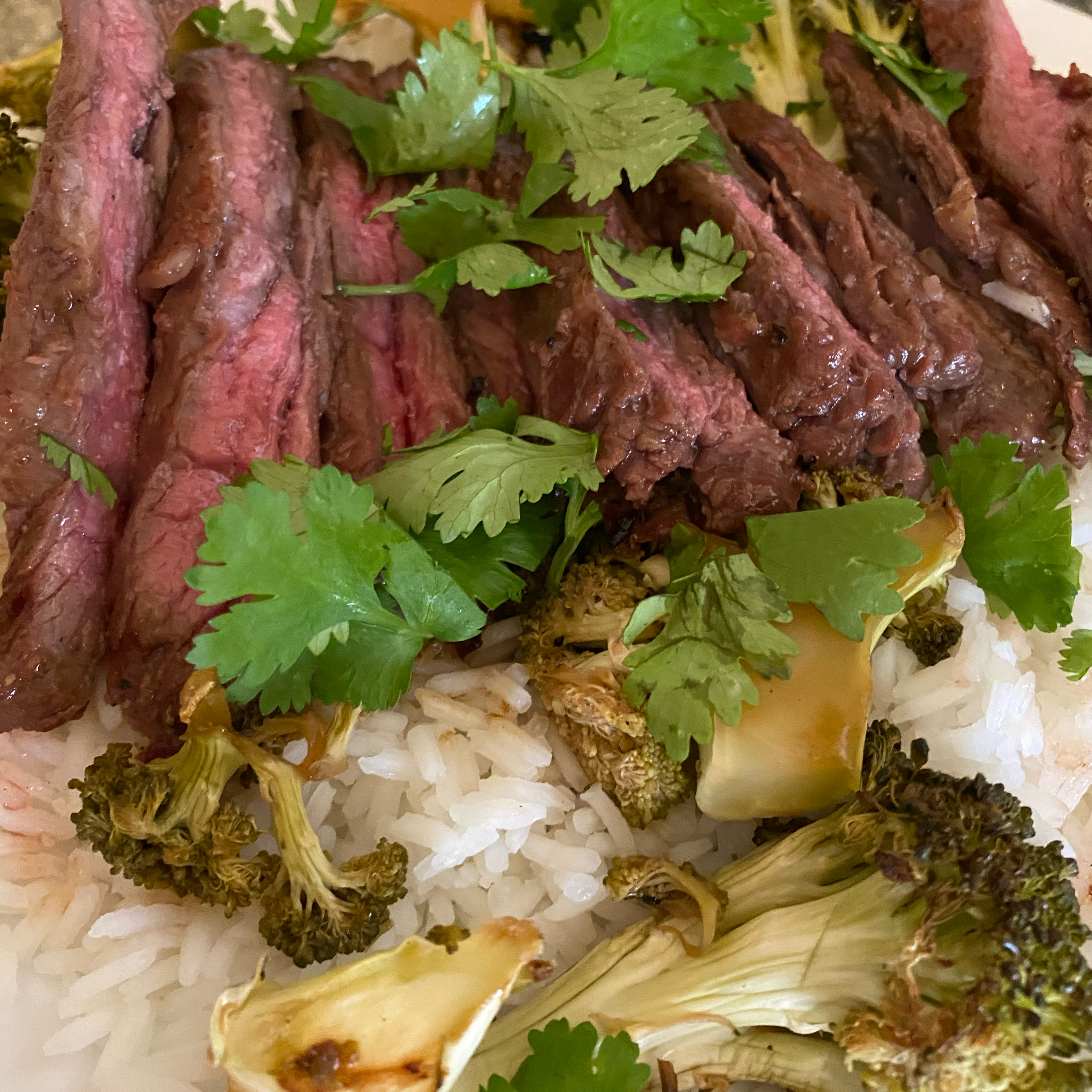 Grilled Skirt Steak with Homemade Asian Barbeque Marinade Erin Marie