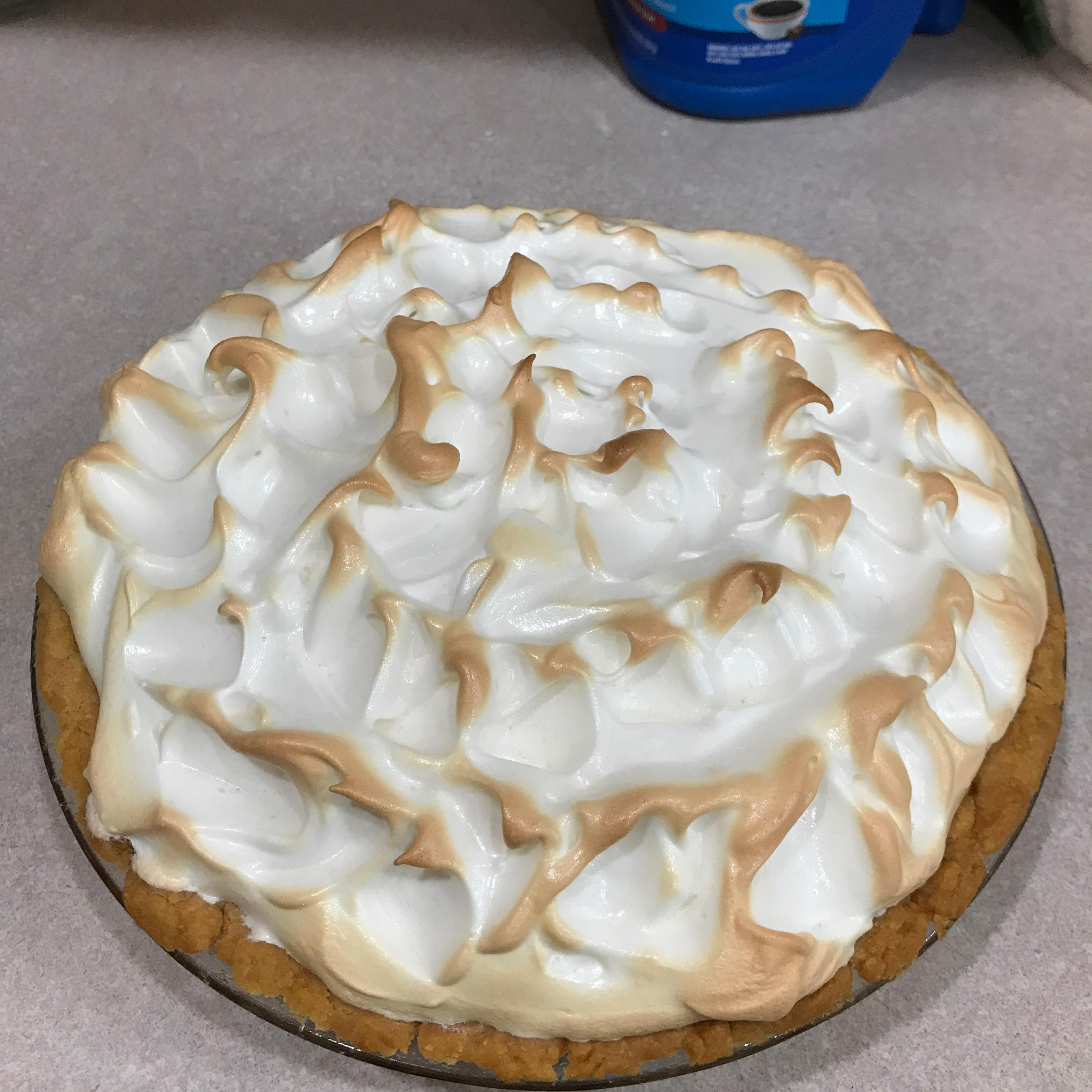 Microwave Chocolate Pie