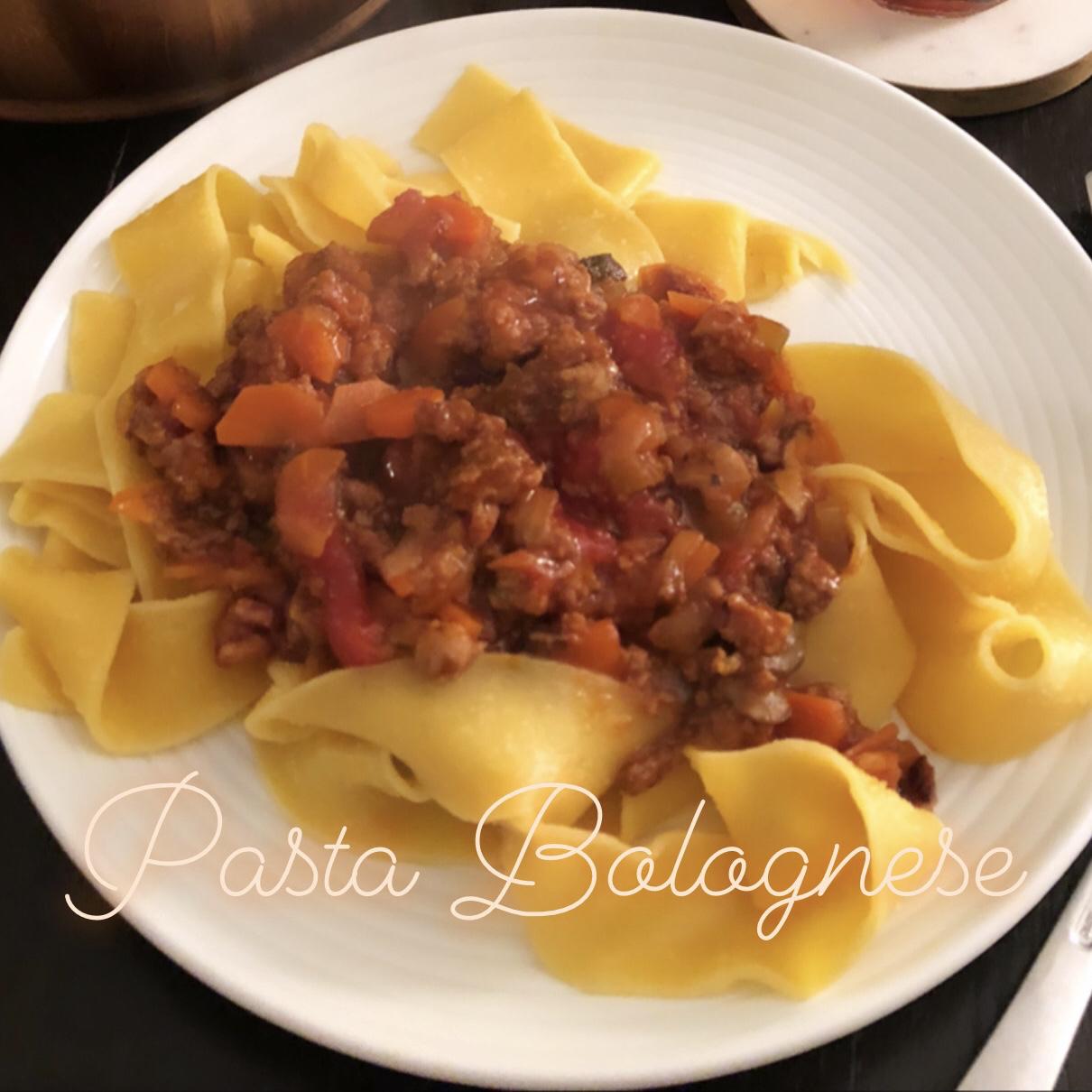 Bolognese Sauce Tingting Li