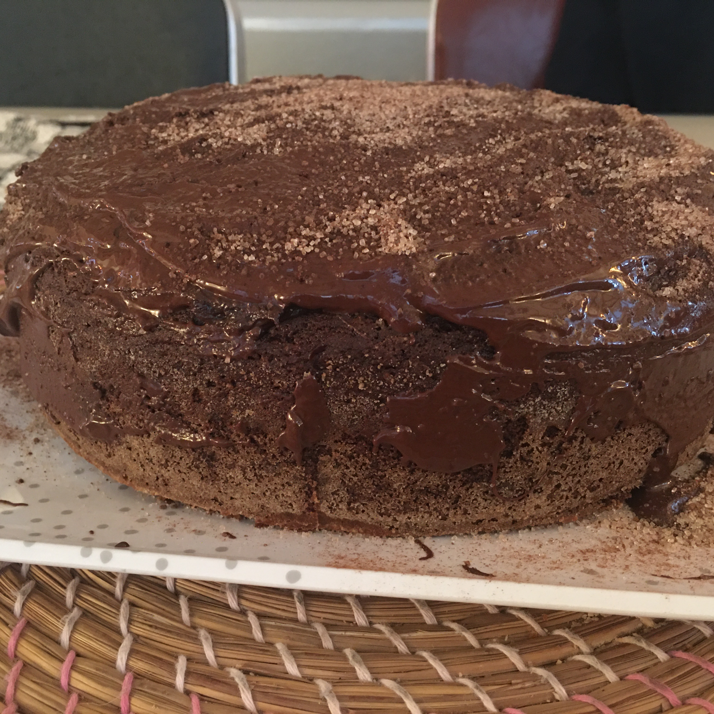 Linda Sue's Chocolate Cake (Vegan)