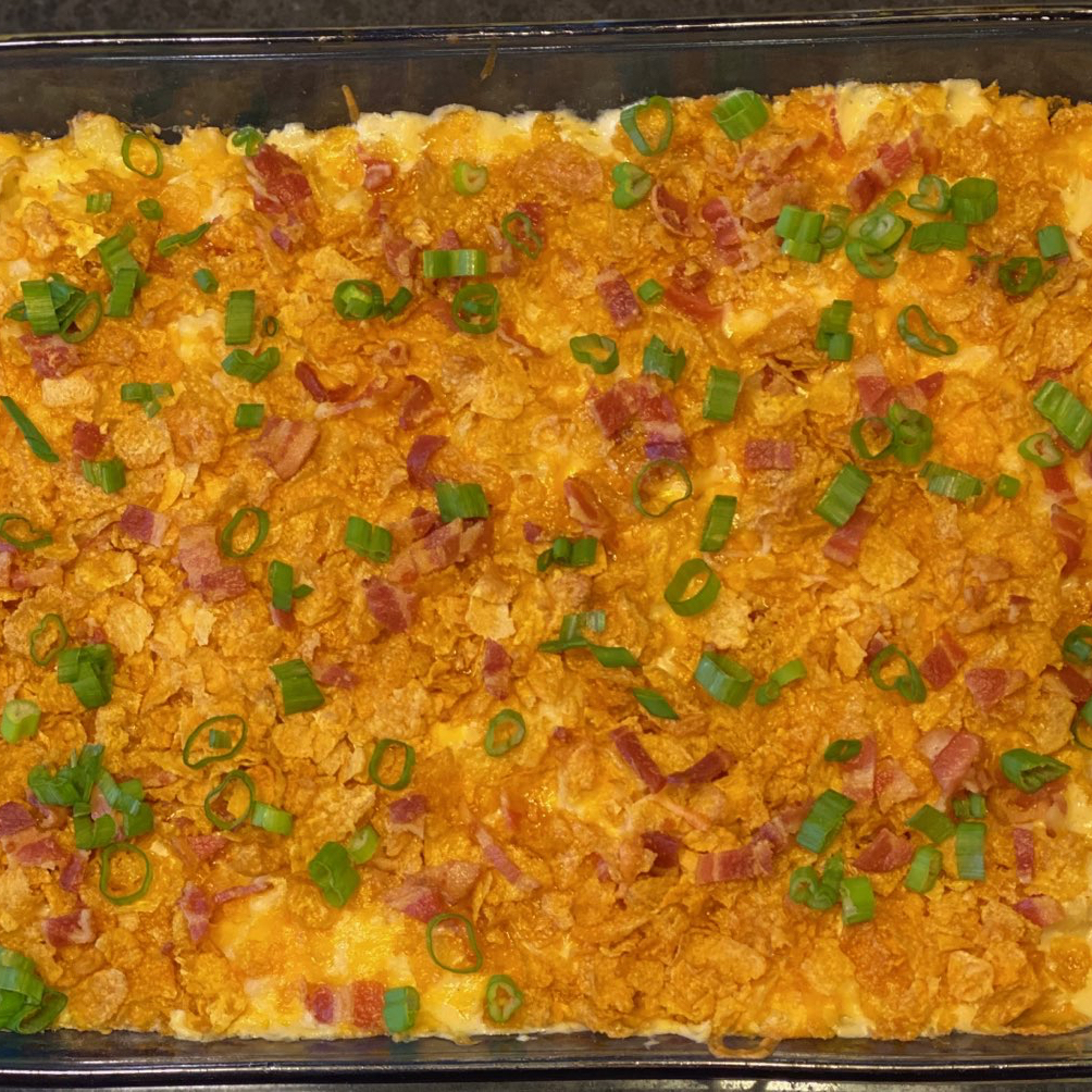 Cheesy Chicken and Potato Casserole with Bacon Erin Fares