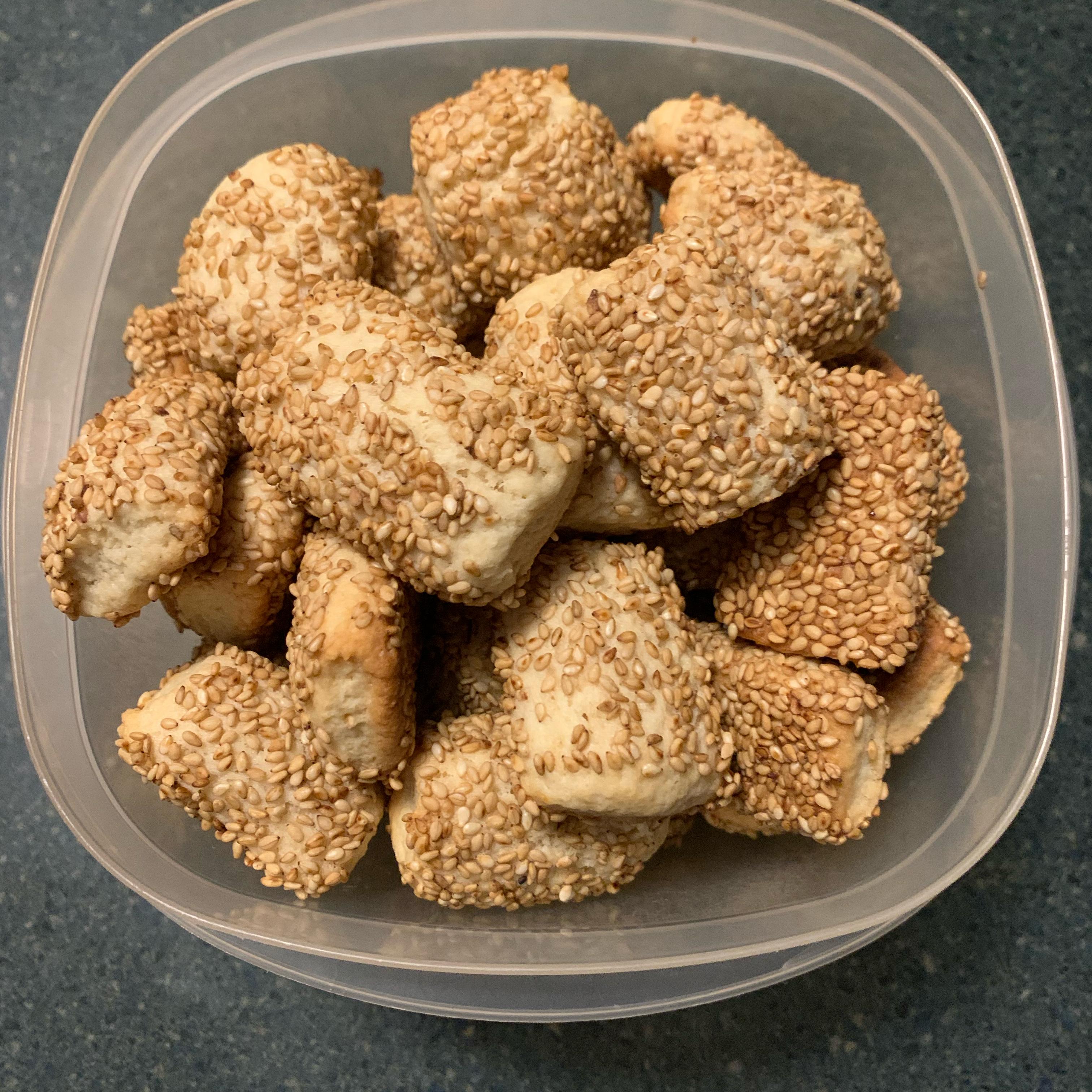 Sesame Seed Cookies III
