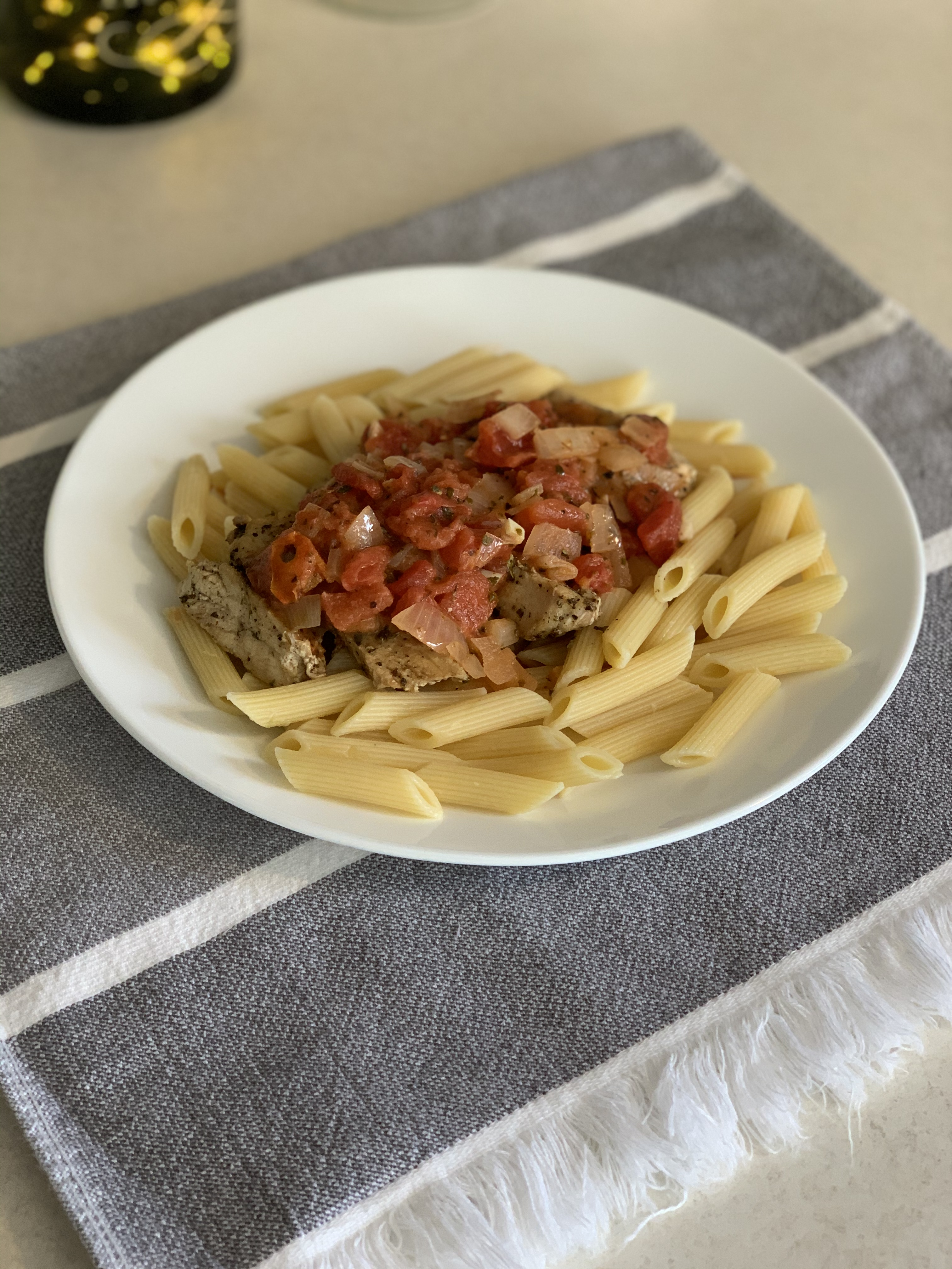 Tomato-Cream Sauce for Pasta Amy B