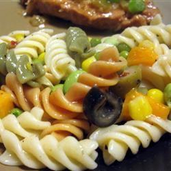 Italian Pasta Salad mommyluvs2cook