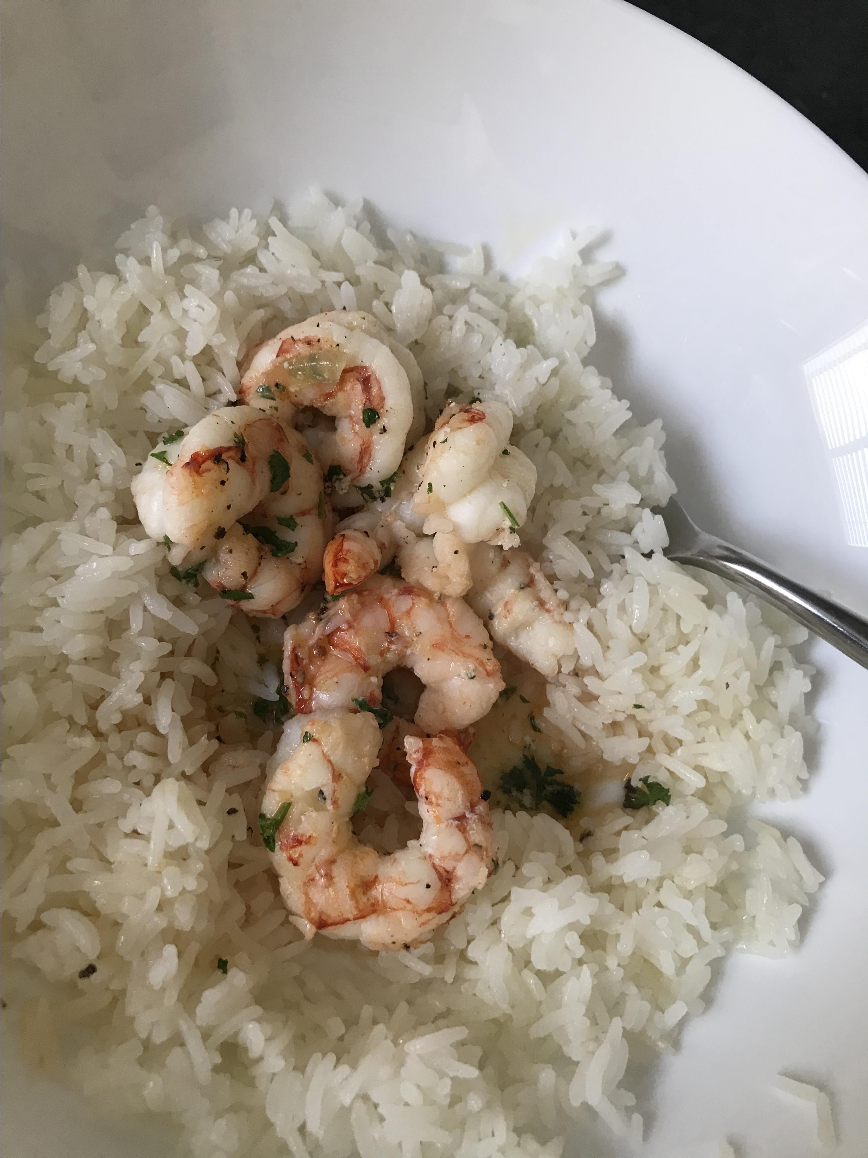 Roasted Shrimp Tracy Yassini