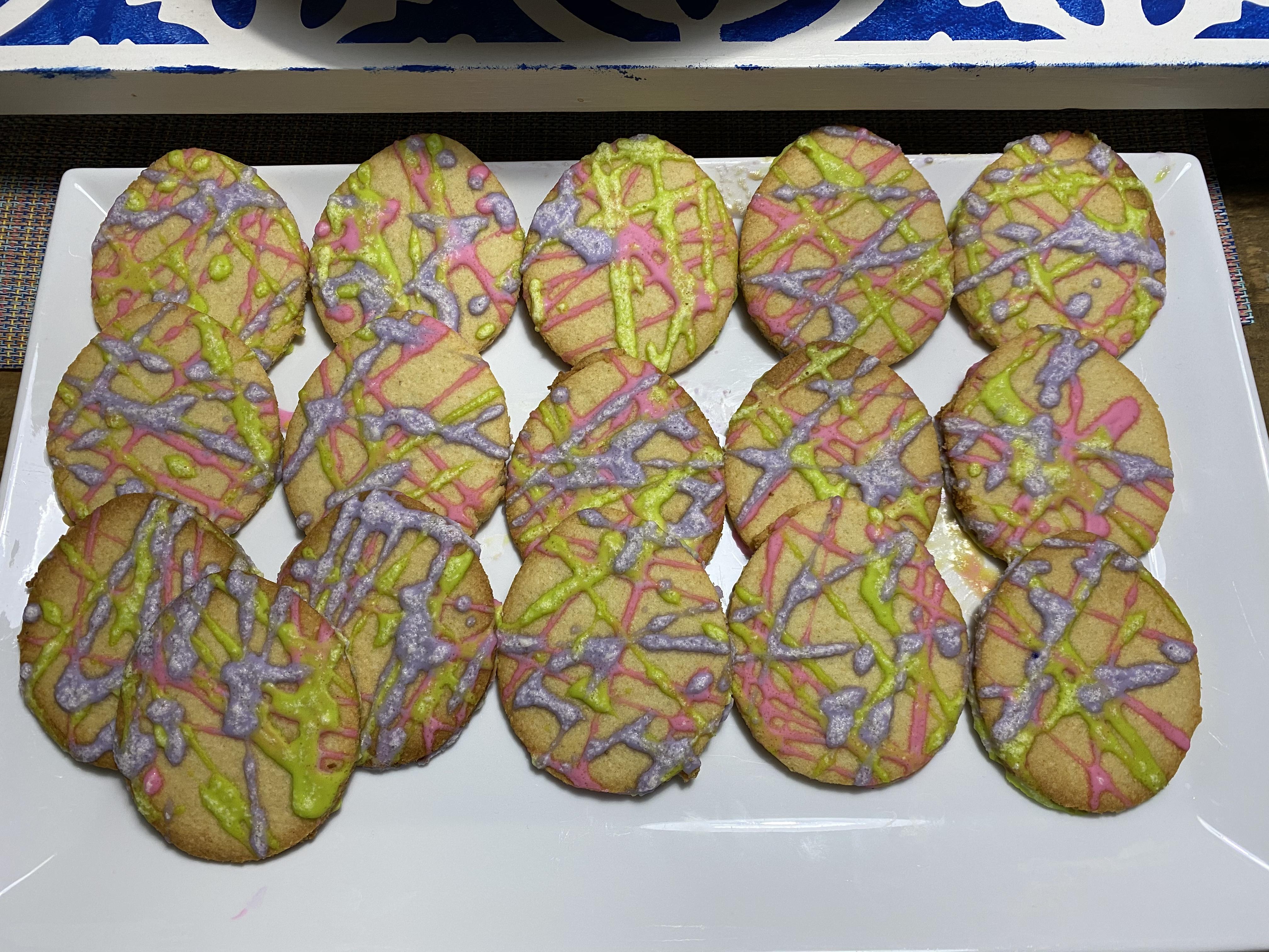 Sugar-Free  Sugar  Cookies with Sugar-Free  Sugar  Icing Quietschie