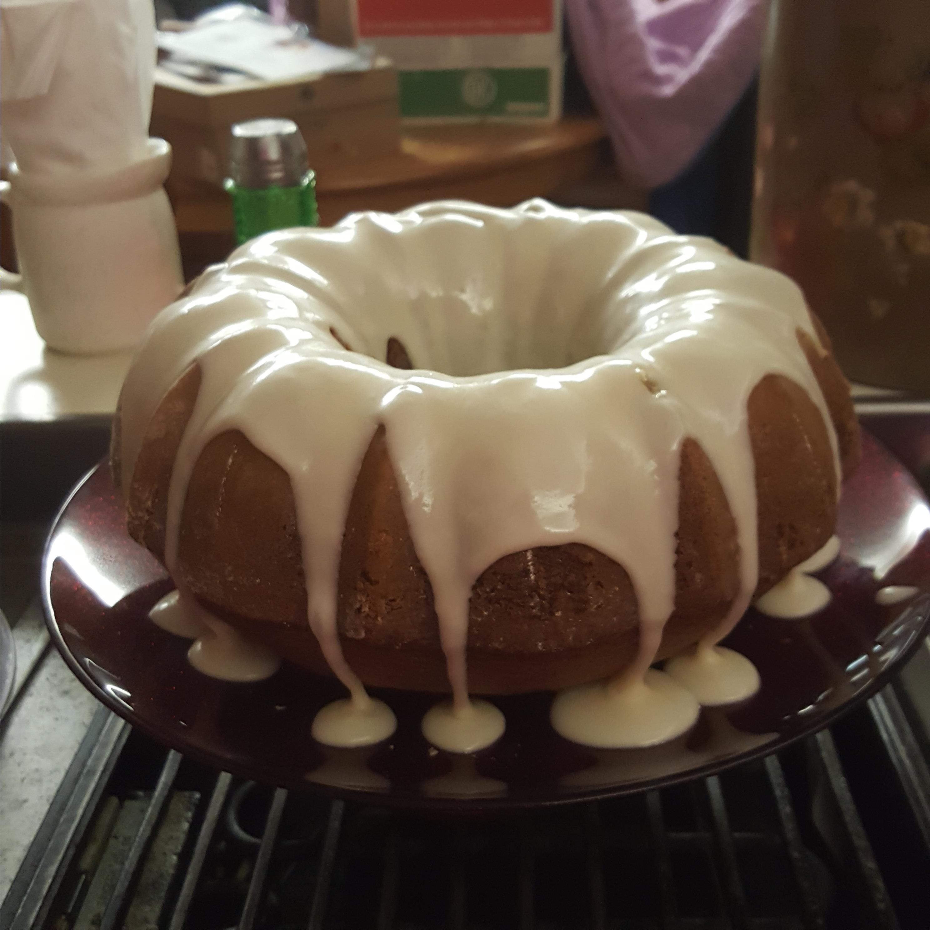 Cinnamon and Amaretto Pound Cake Cindy Jackson
