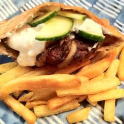 Mediterranean Lamb Burgers DeB