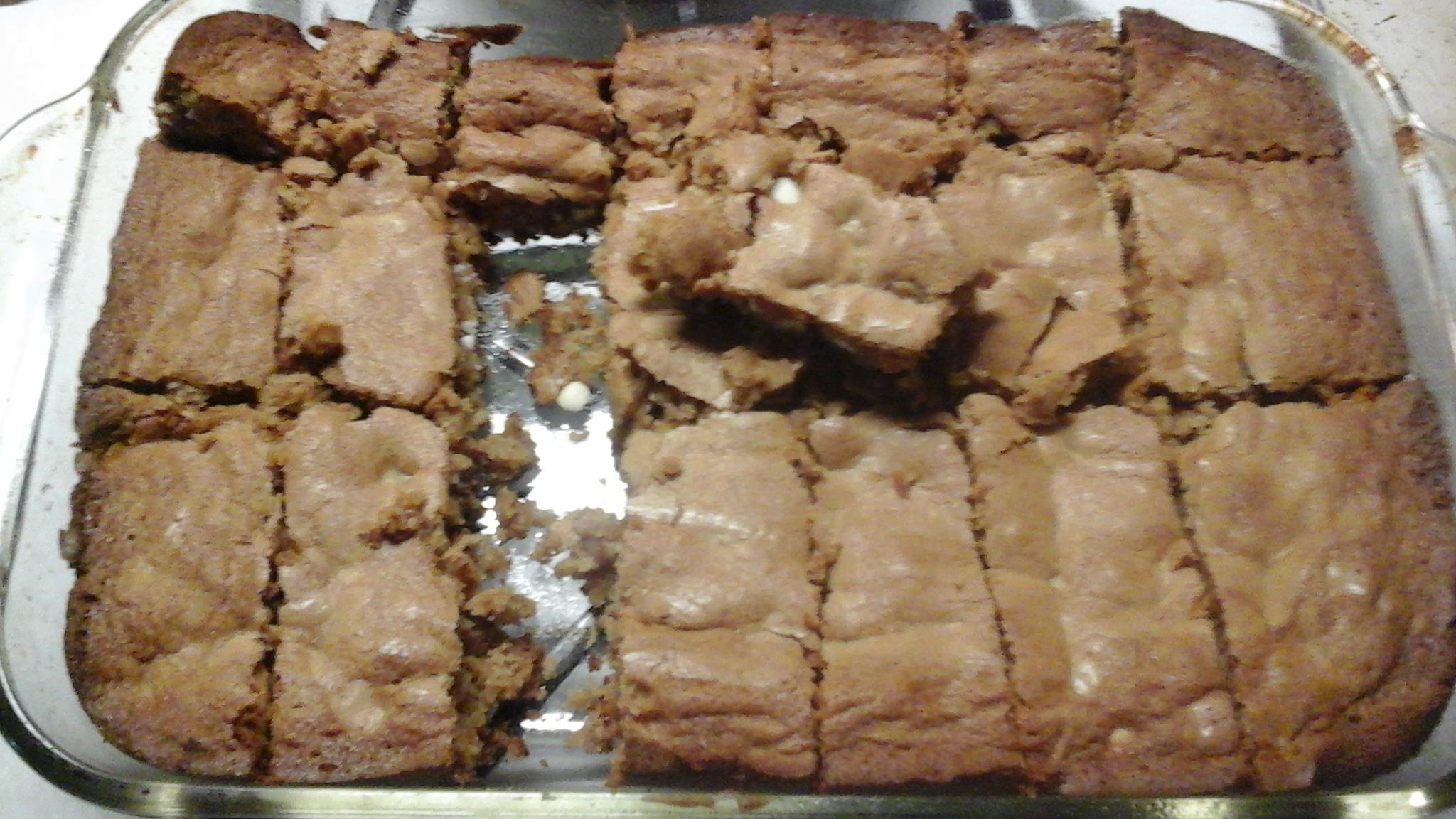 Robin's Blond Brownies