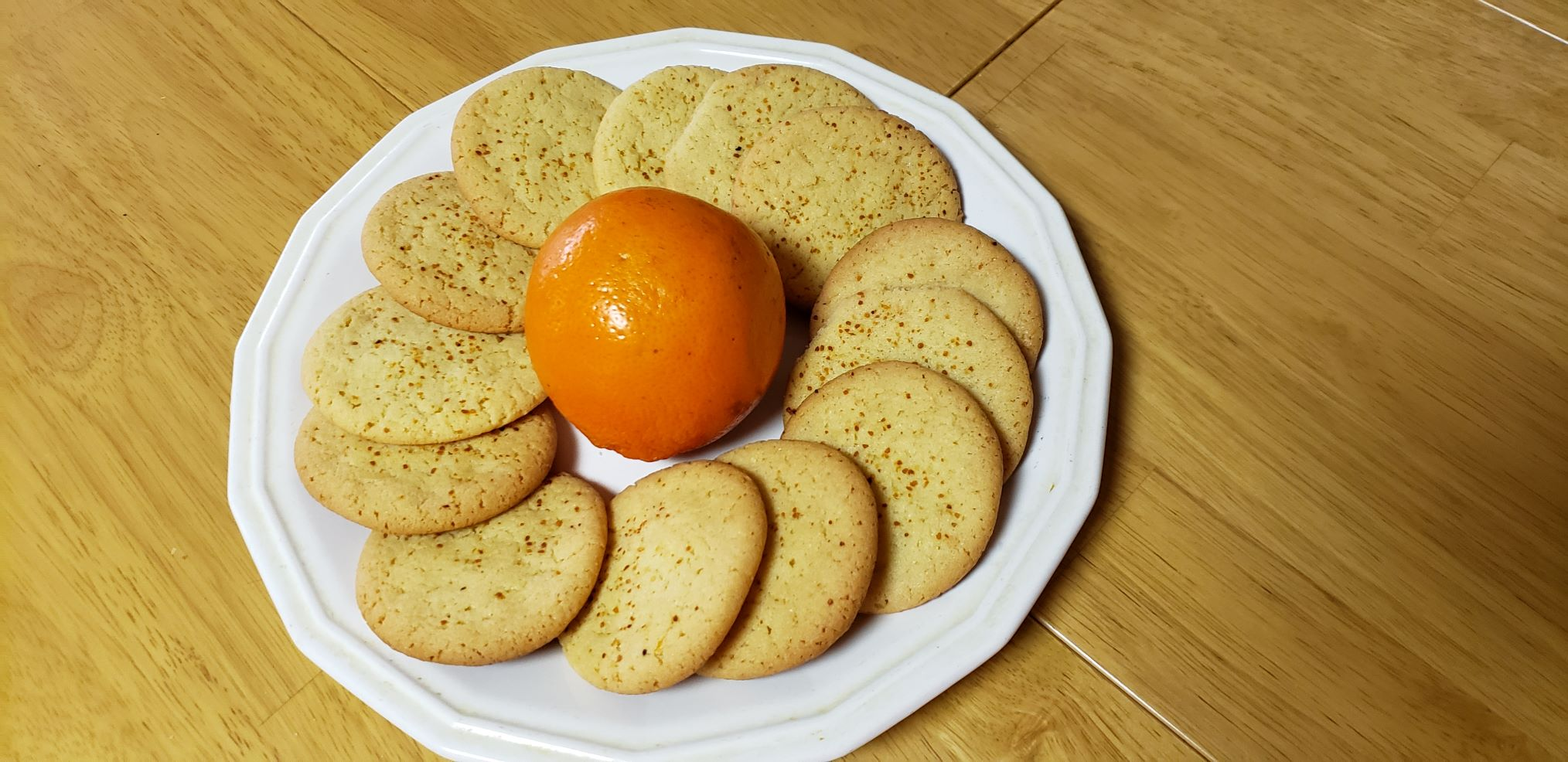 Citrus Egg Yolk Cookies Sue Donaldson