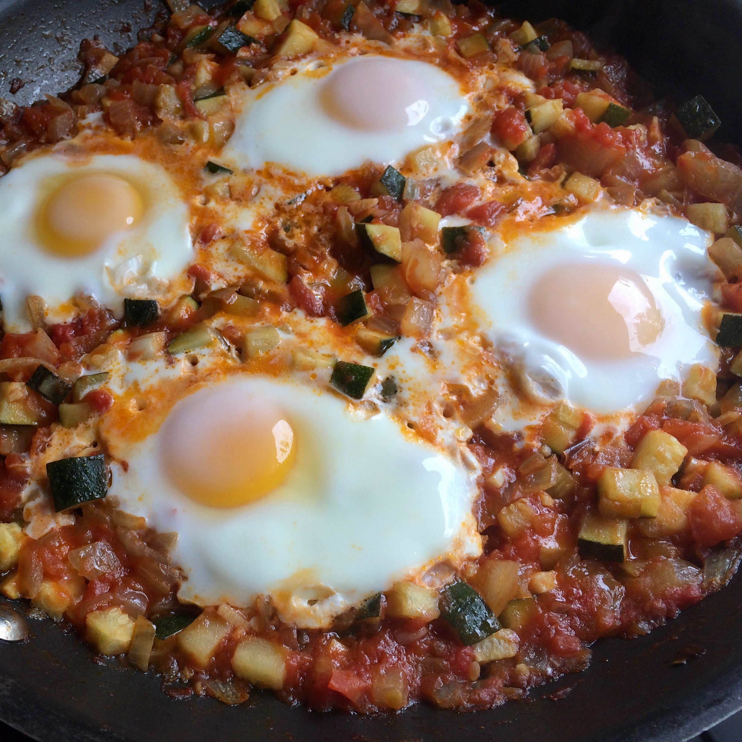 Shakshuka (Middle Eastern Breakfast Dish)