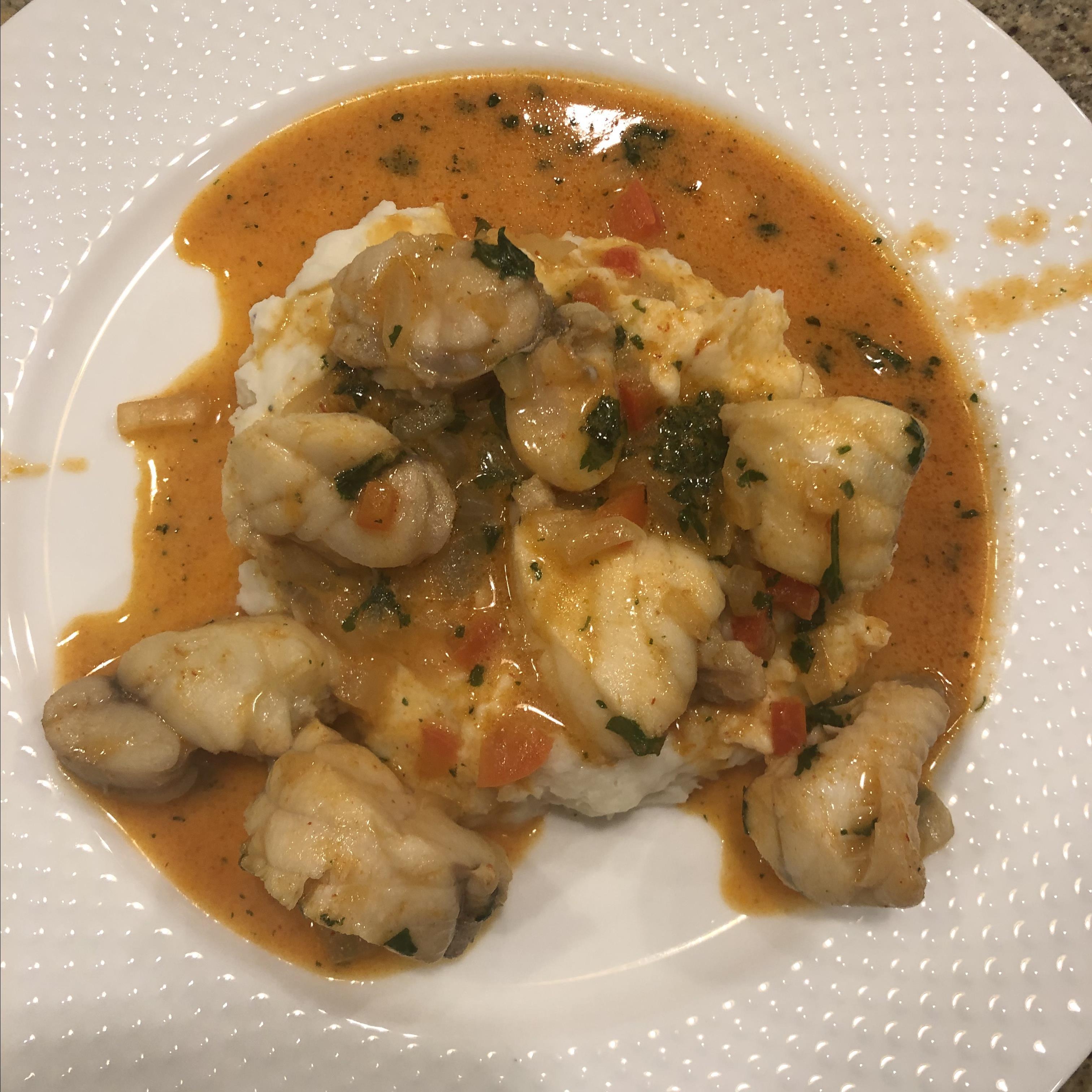 Thai Monkfish Curry Susan Beall Werner
