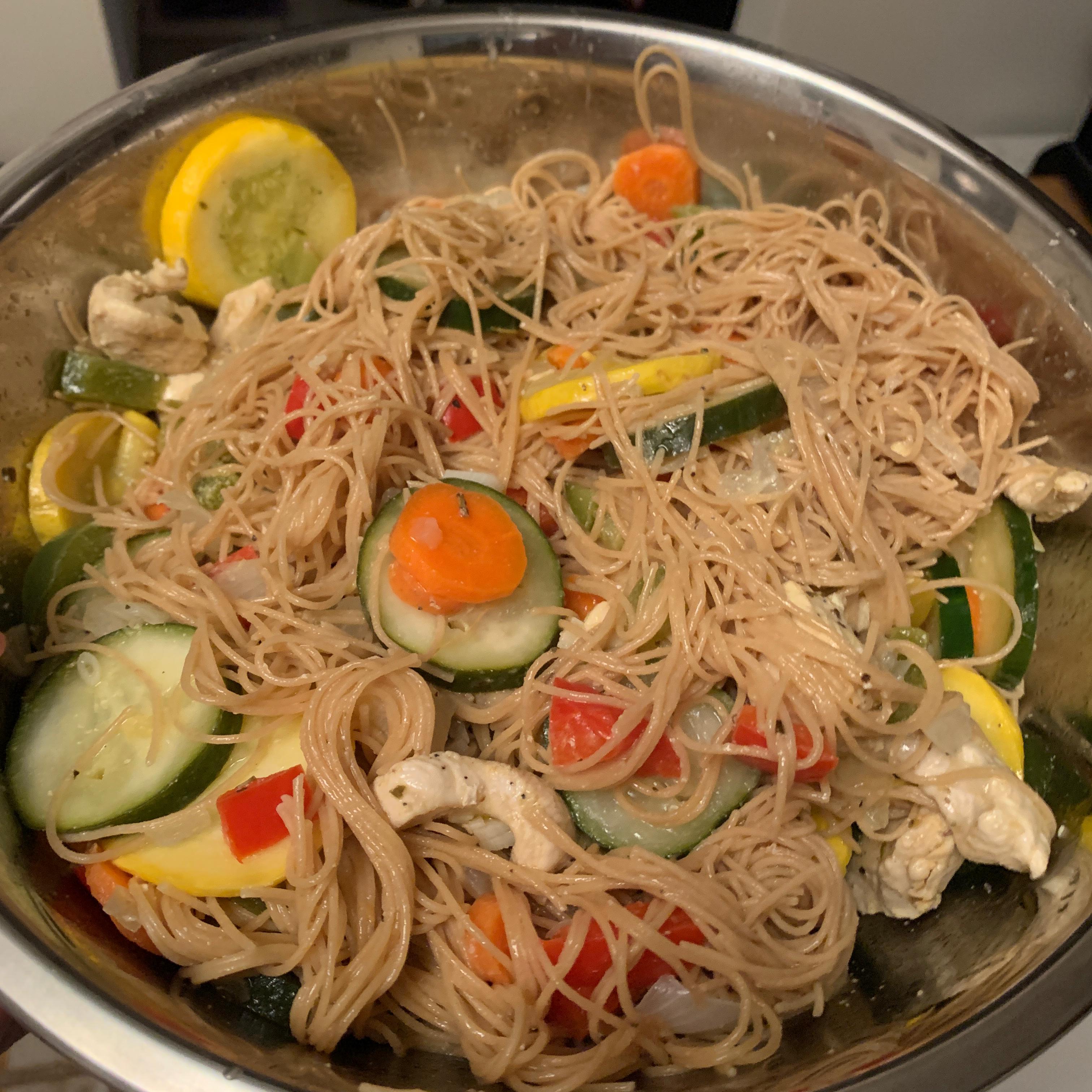 Linguini with Vegetables John J. Lauro