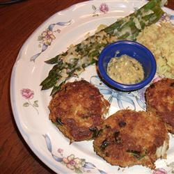 Perfect Crab Cakes With Green Onions