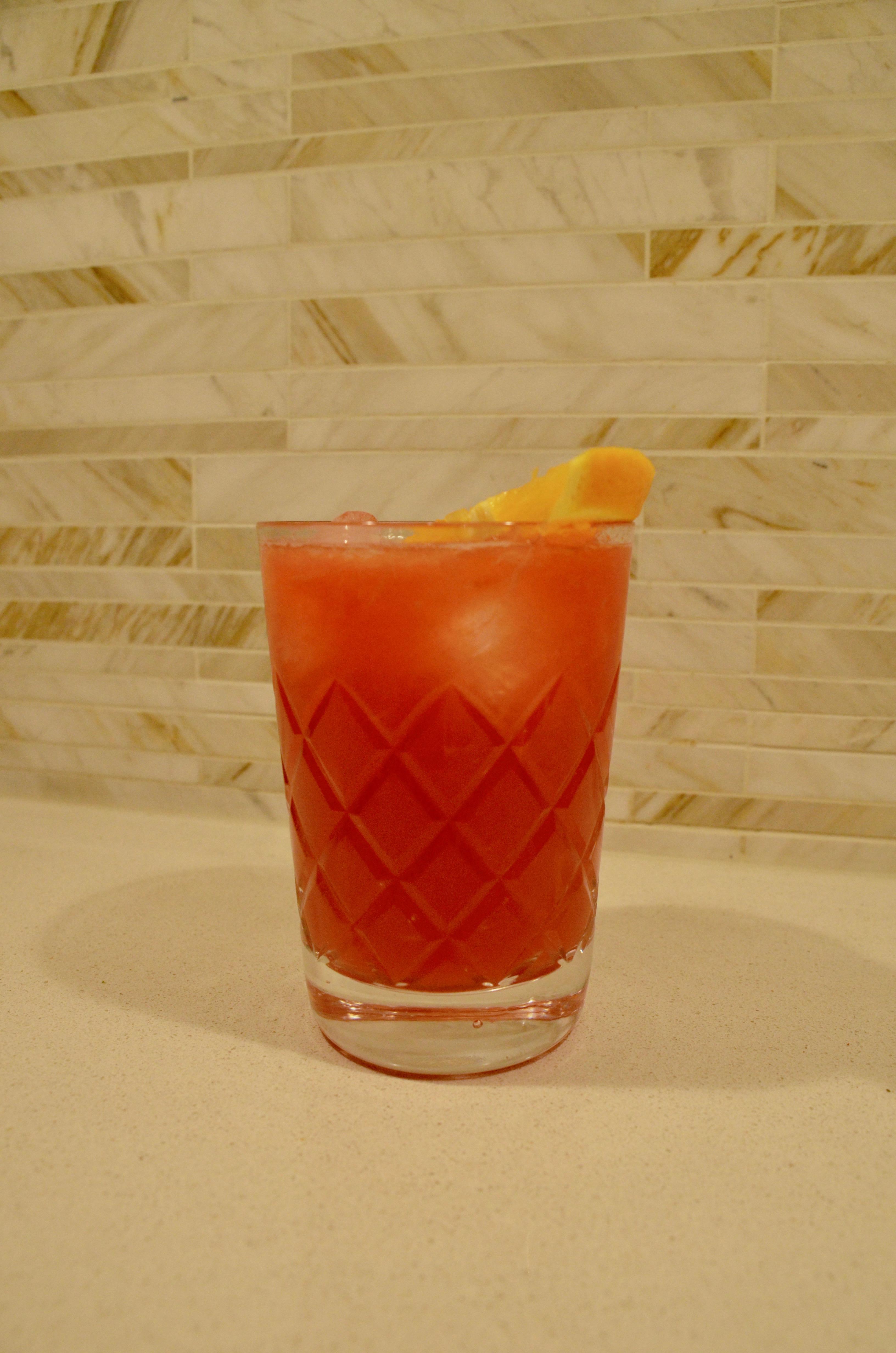 Blood Orange Campari Spritz