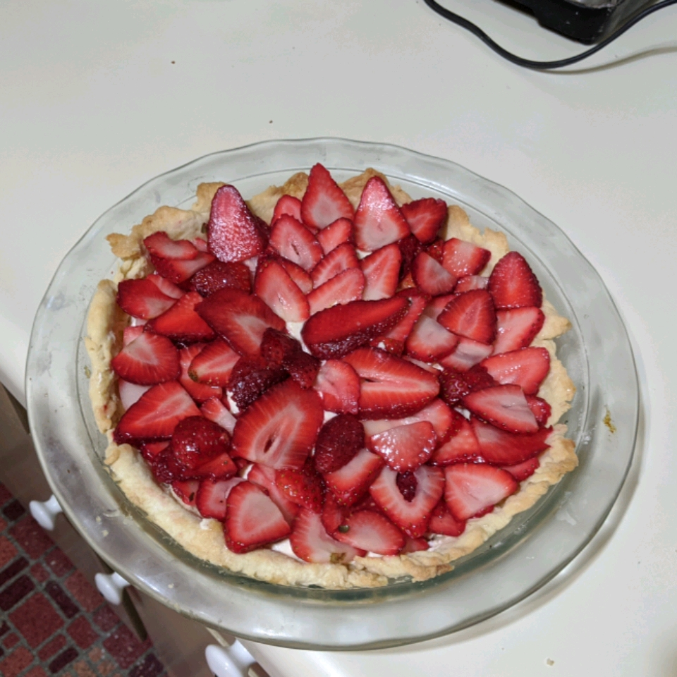 Strawberry Cheese Pie Nancy