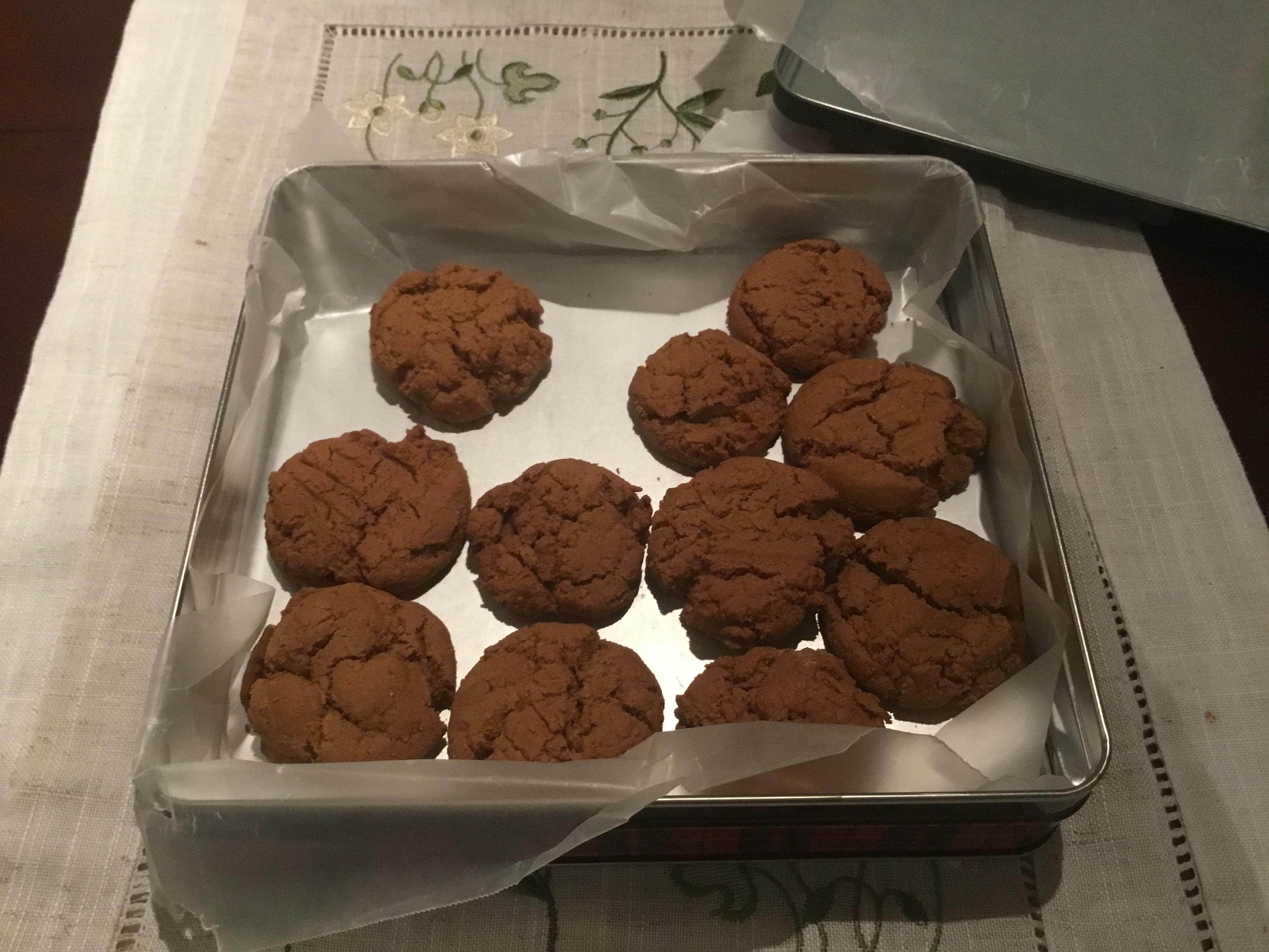 Canadian Molasses Cookies