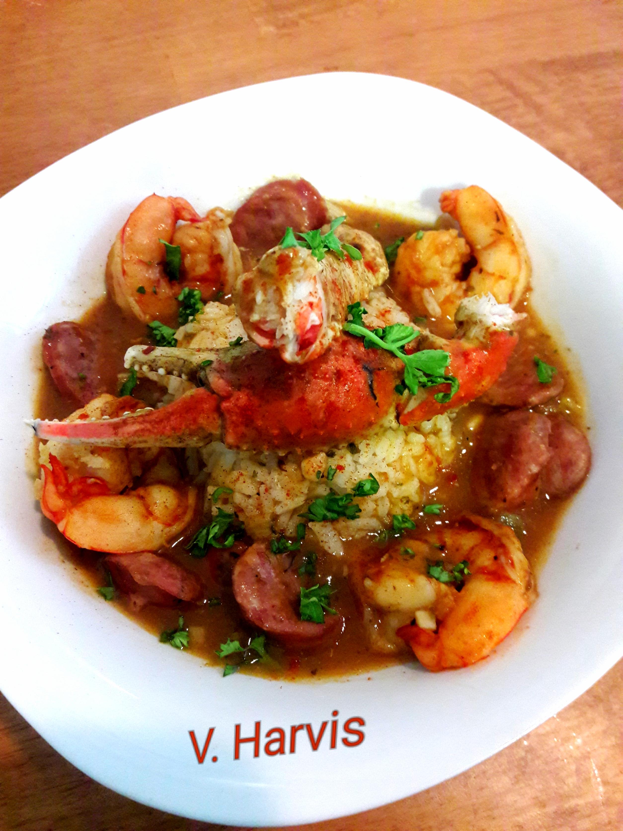 Seafood File Gumbo Victoria Harvis