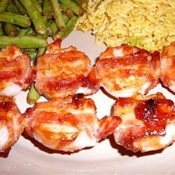 Bacon Wrapped Shrimp Marlena C.