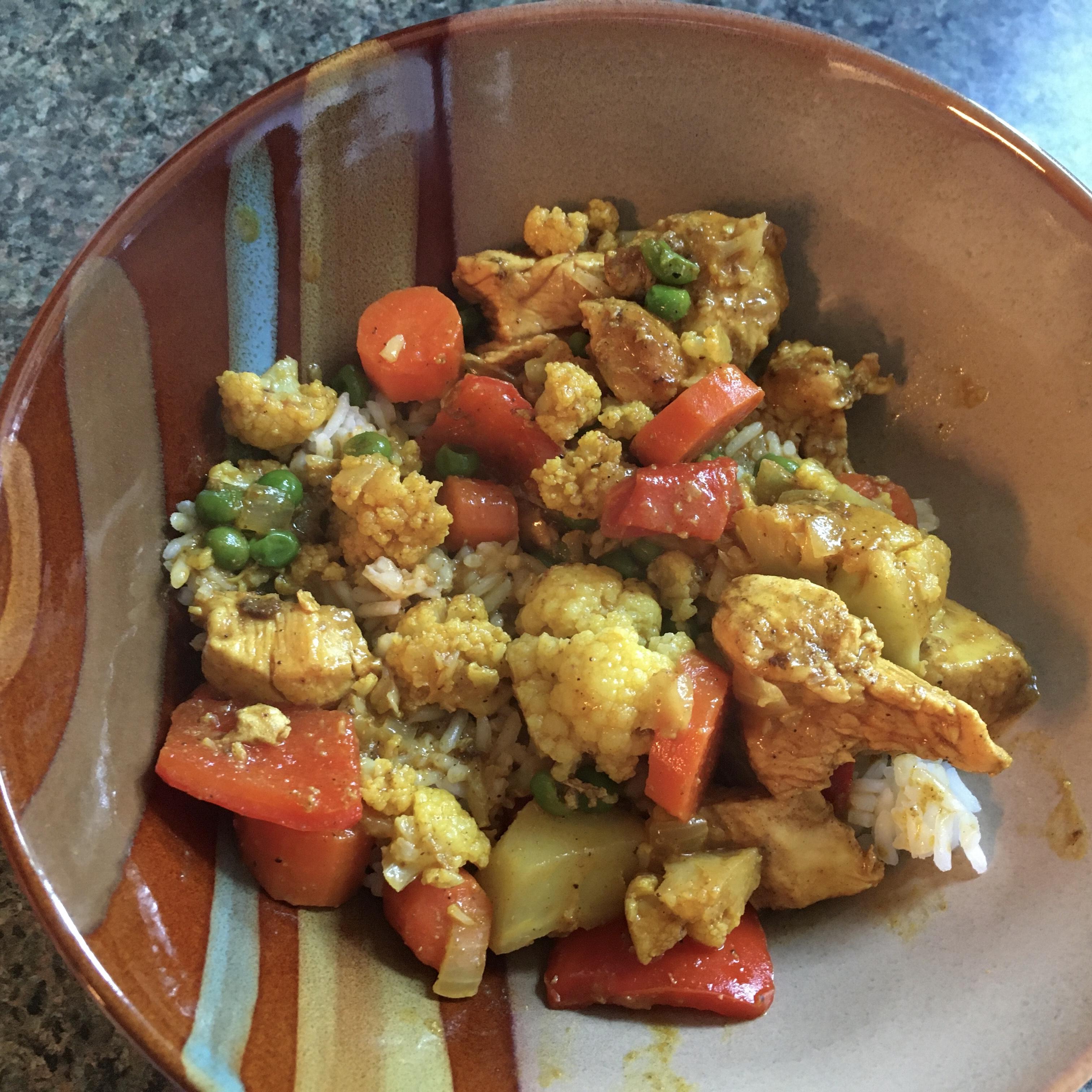 Chicken Cauliflower Korma