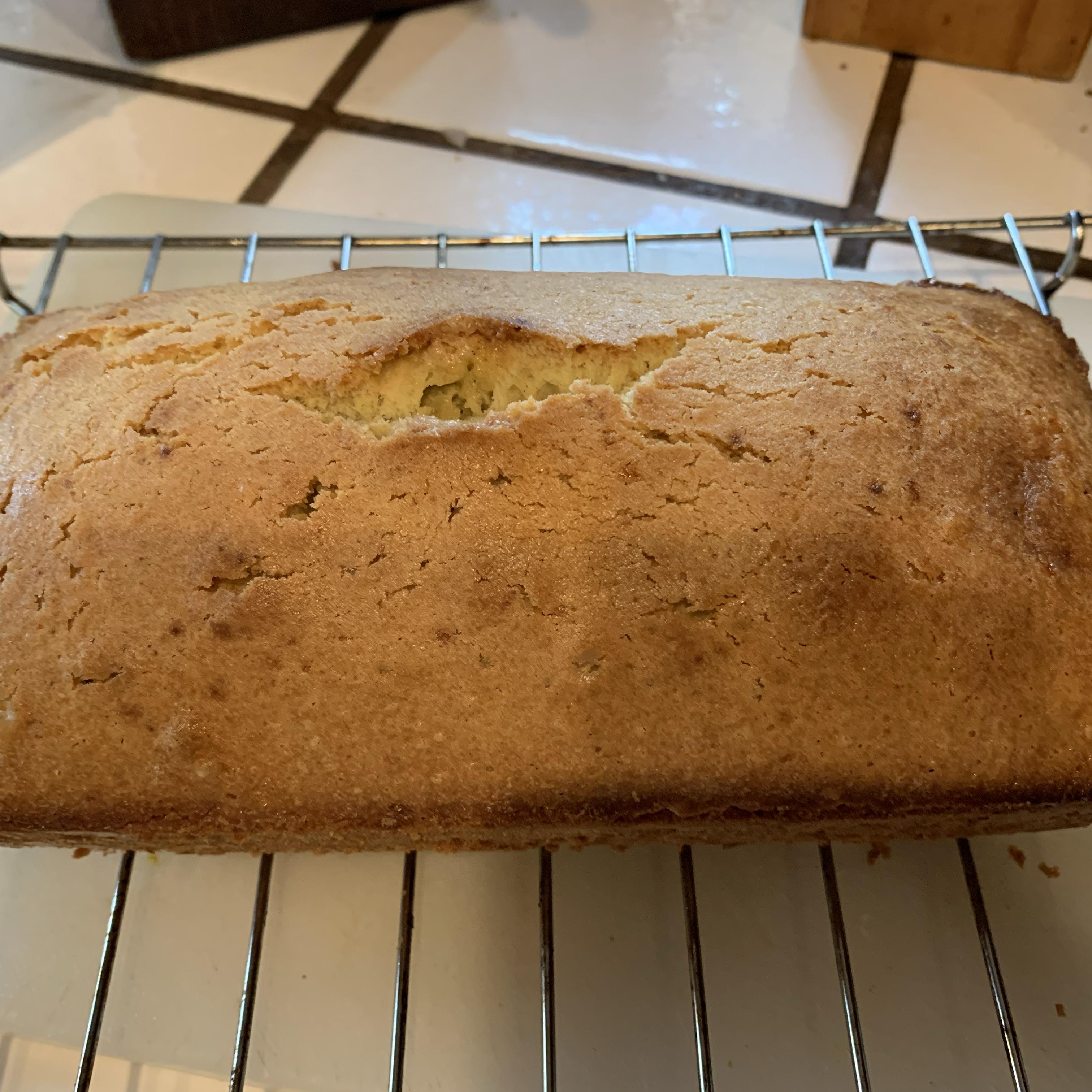 Spiced Orange Olive Oil Cake