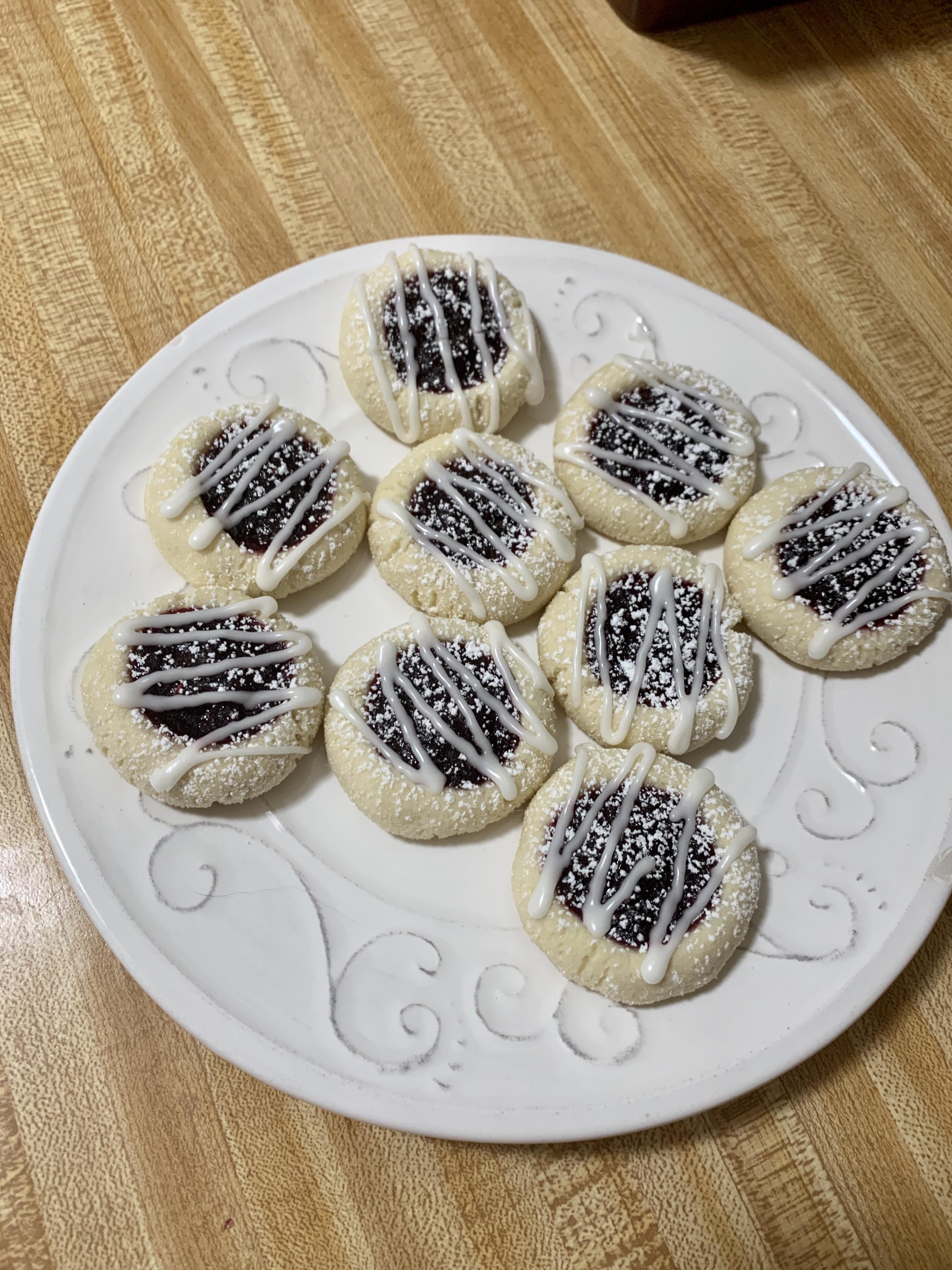 Perfect Thumbprint Cookies Lindsey Prahm