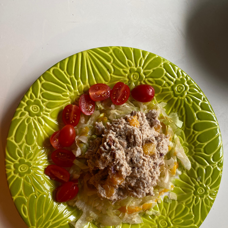 Chicken Salad with Peaches and Walnuts Nara Da Silva