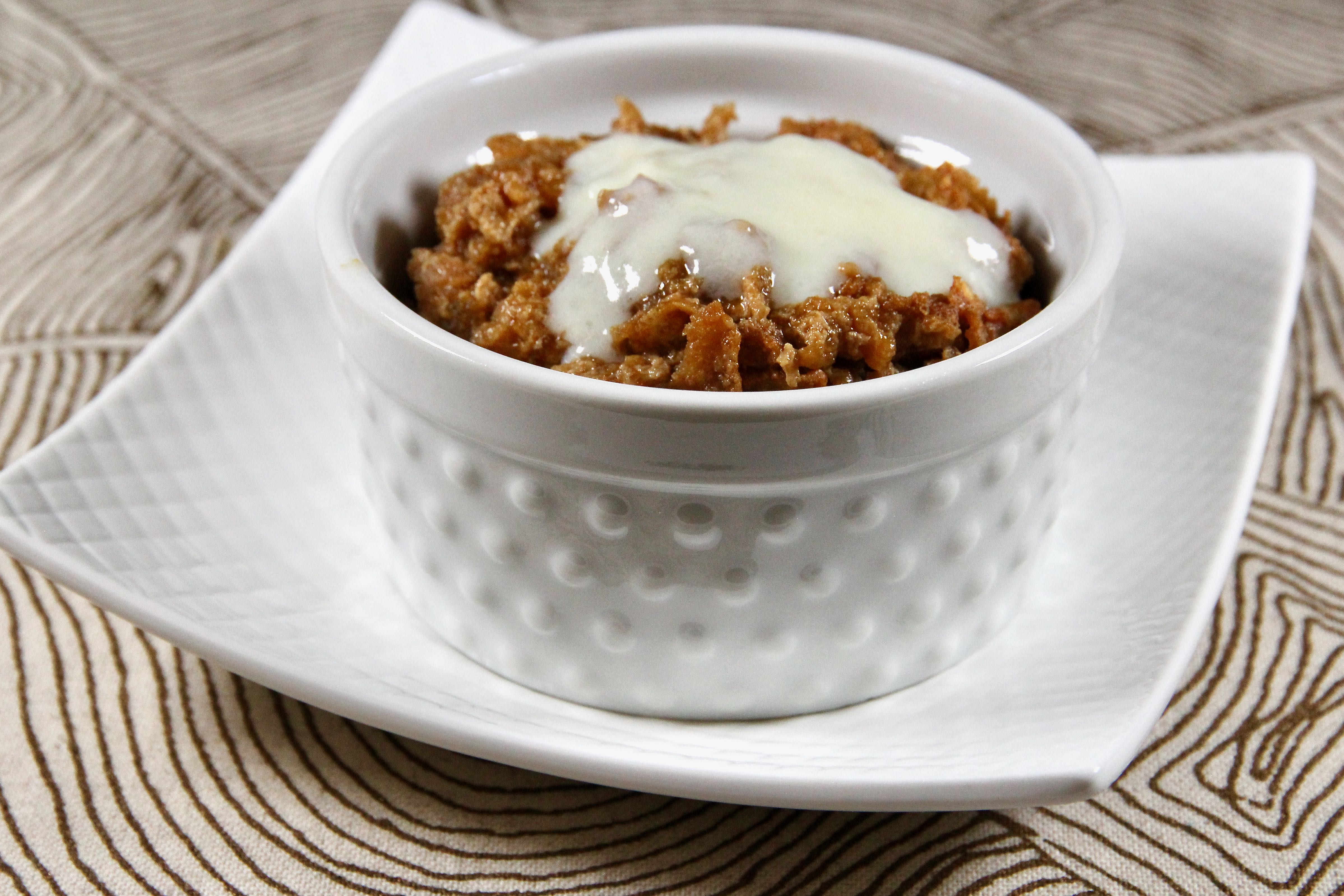 Pudding with Cornflakes